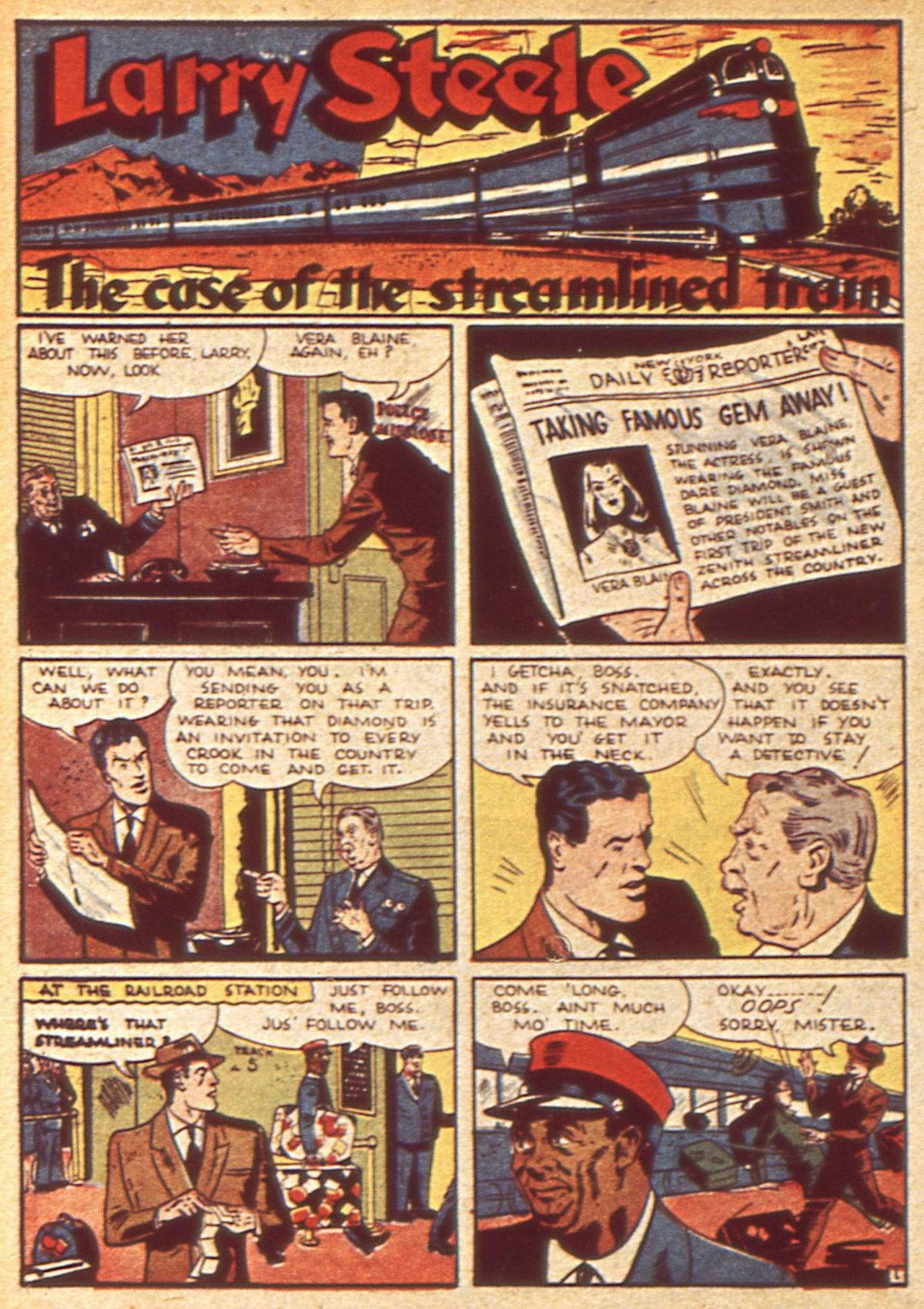 Read online Detective Comics (1937) comic -  Issue #49 - 32
