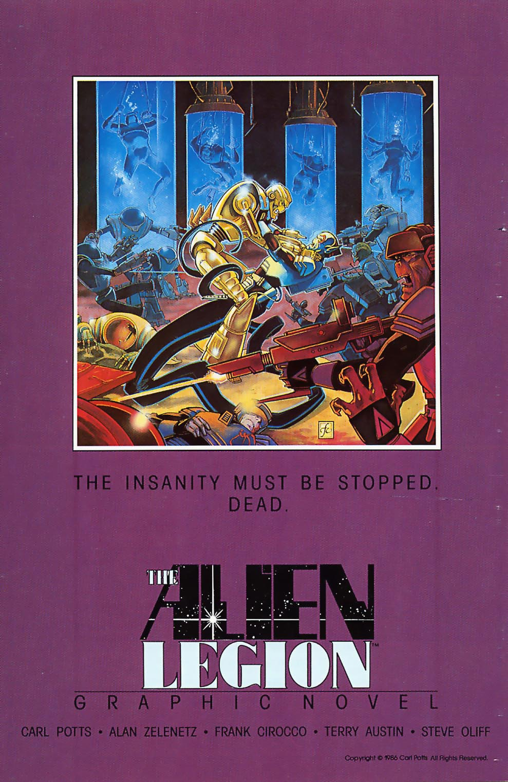 Read online Alien Legion comic -  Issue #18 - 36