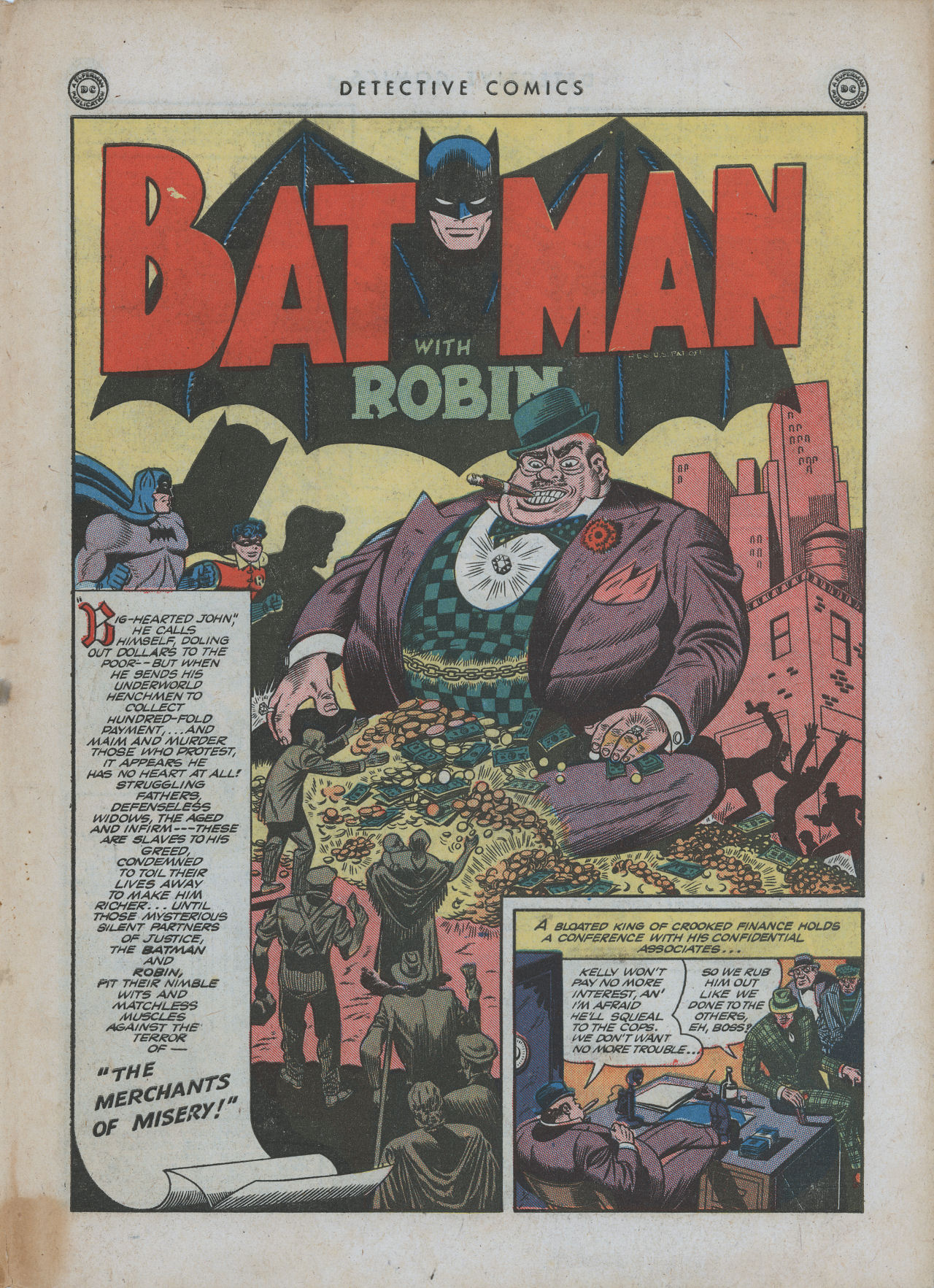 Read online Detective Comics (1937) comic -  Issue #88 - 3