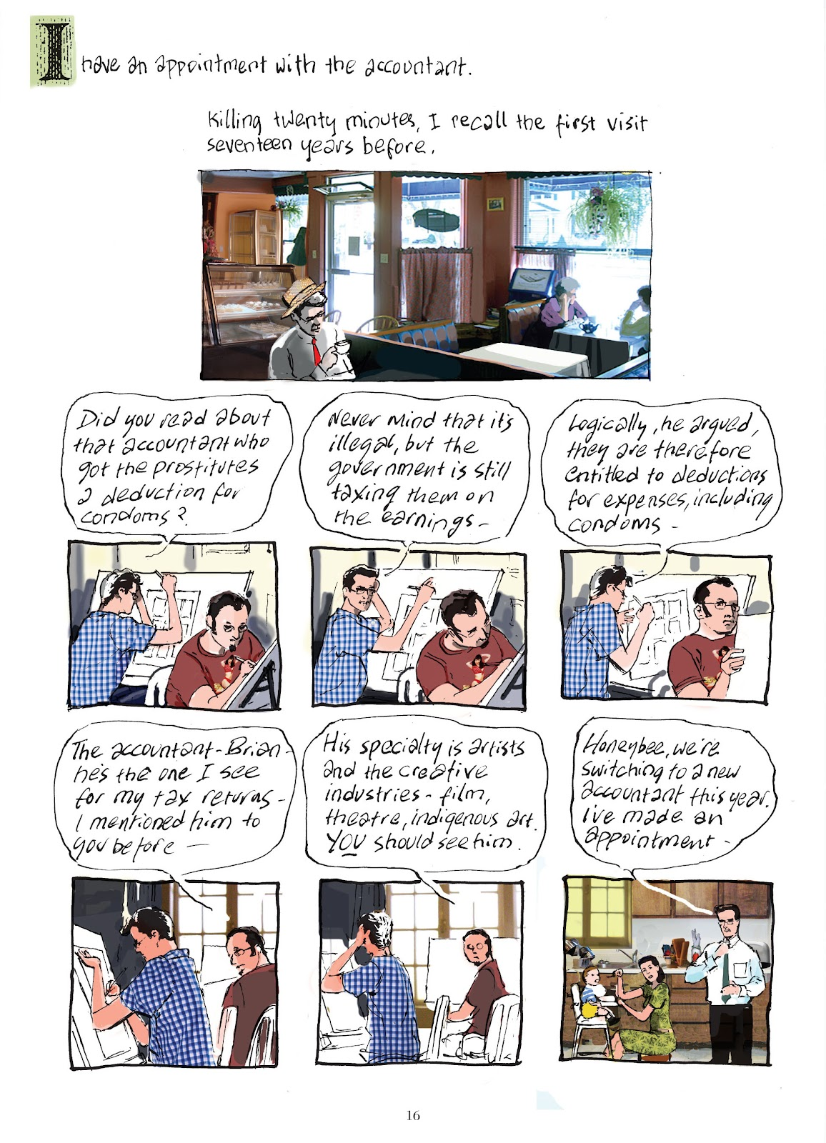 Read online The Lovely Horrible Stuff comic -  Issue # TPB - 18