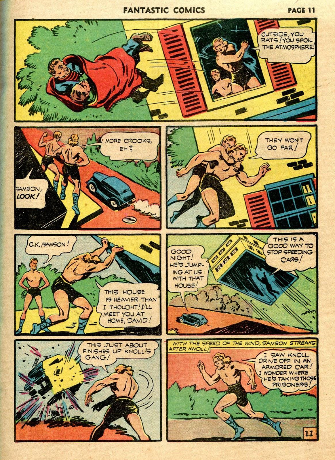 Read online Fantastic Comics comic -  Issue #21 - 13