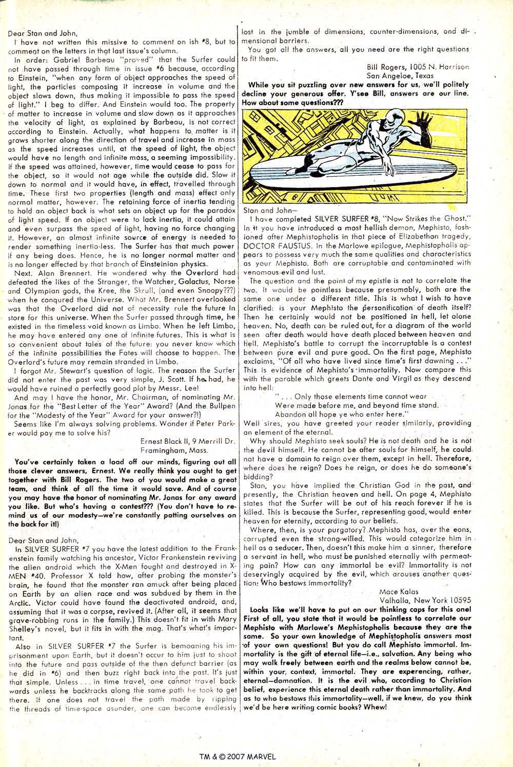 Read online Silver Surfer (1968) comic -  Issue #12 - 33