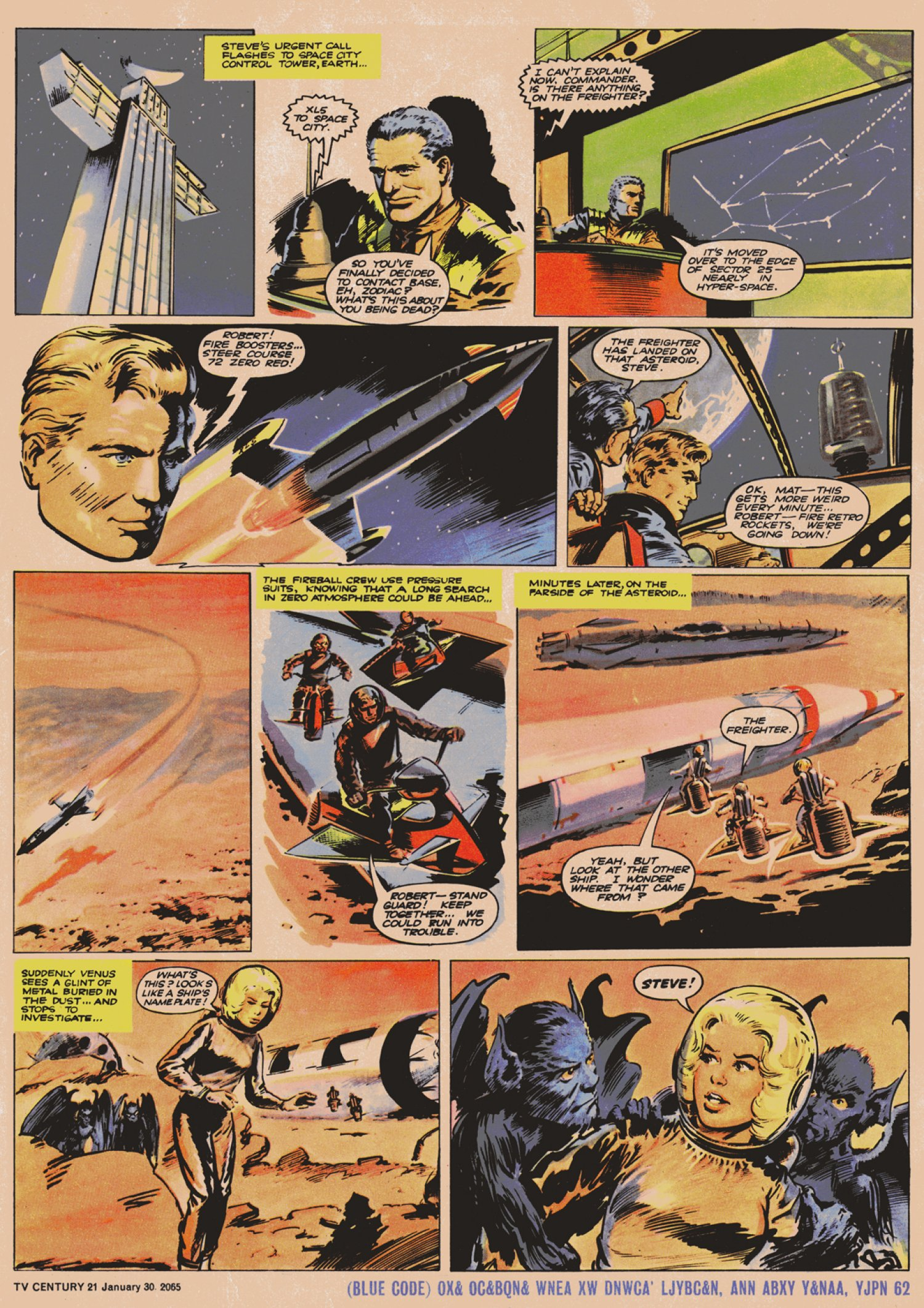 Read online TV Century 21 (TV 21) comic -  Issue #2 - 5