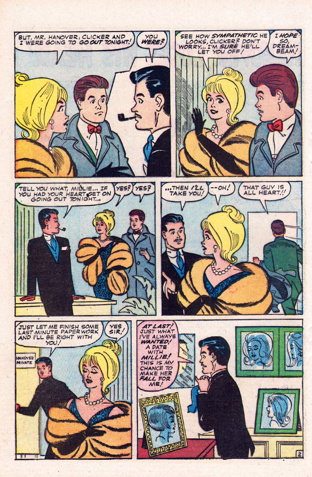 Read online Millie the Model comic -  Issue # Annual 2 - 52