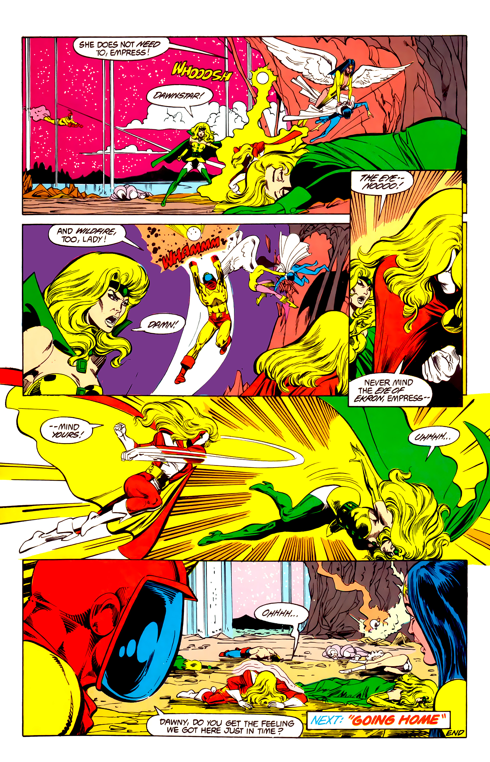 Legion of Super-Heroes (1984) 26 Page 29