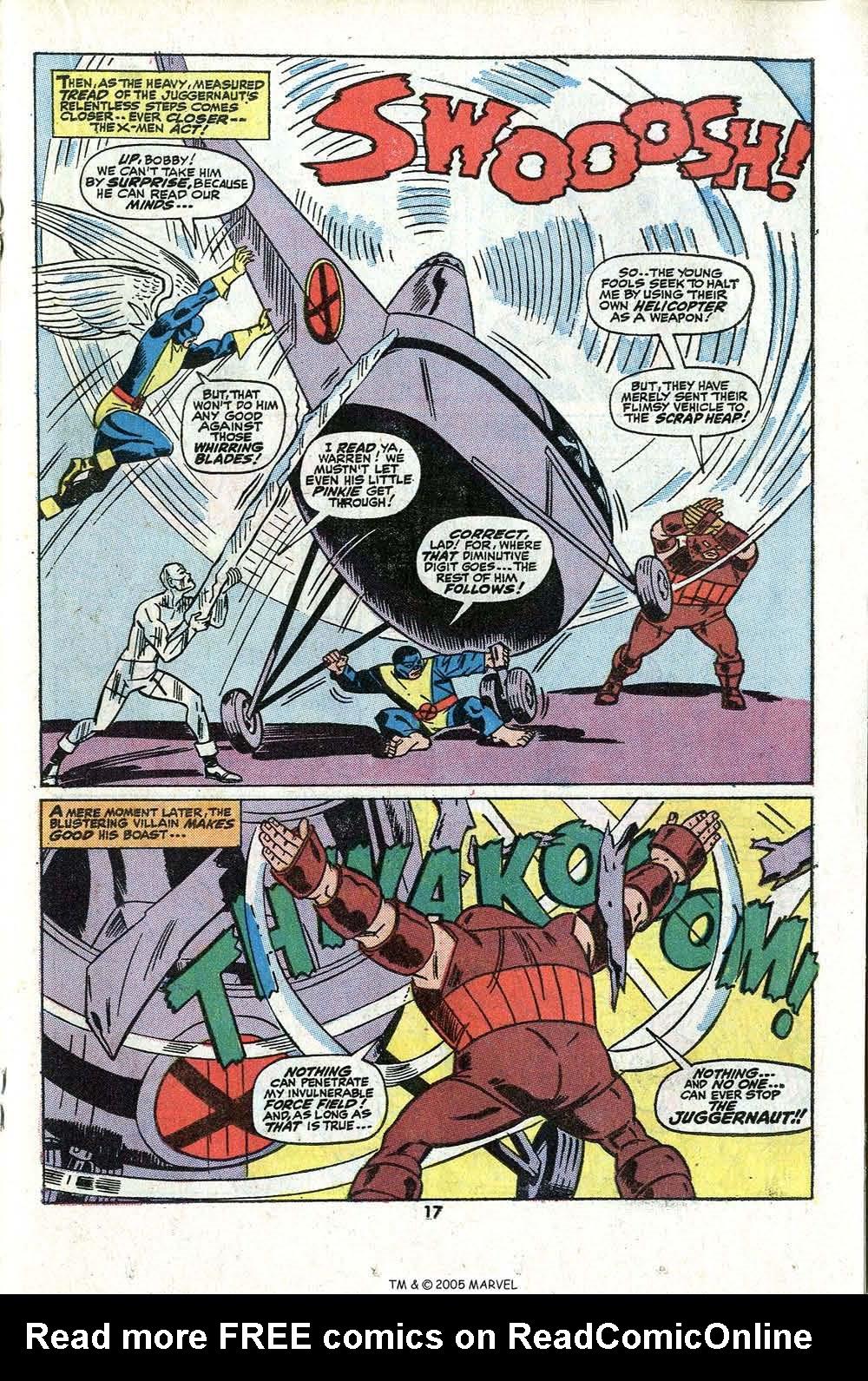 Read online Uncanny X-Men (1963) comic -  Issue #81 - 19
