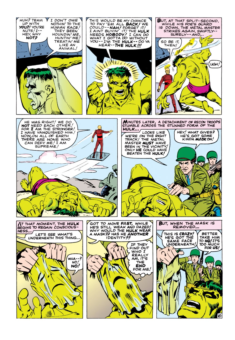 Read online Marvel Masterworks: The Incredible Hulk comic -  Issue # TPB 1 (Part 2) - 39