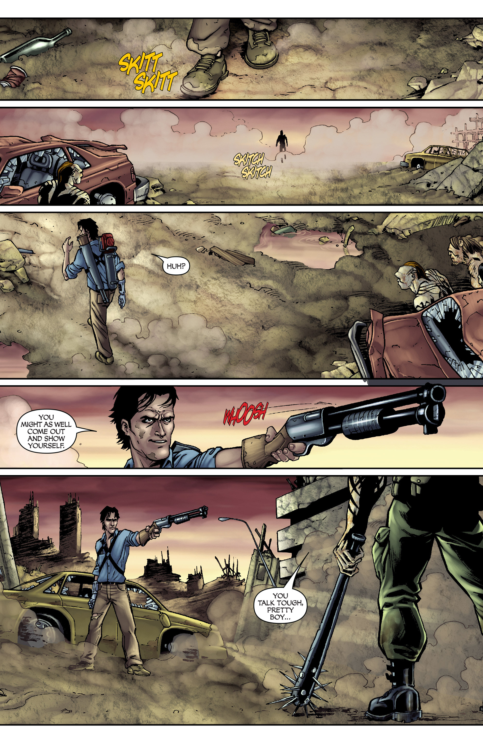 Read online Army of Darkness: From the Ashes comic -  Issue #Army of Darkness: From the Ashes TPB - 14