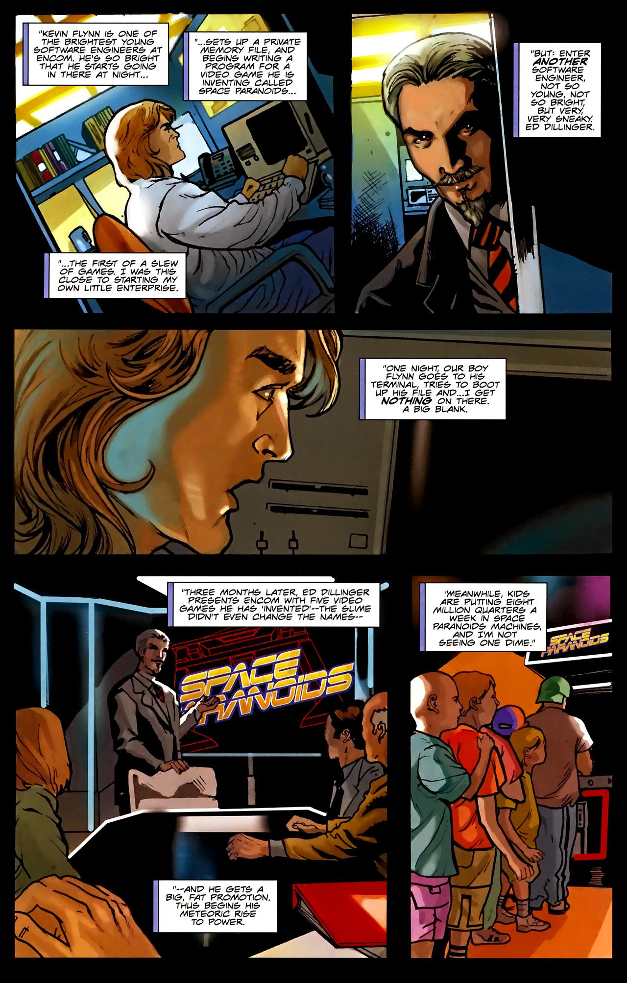 Read online TRON: Original Movie Adaptation comic -  Issue #1 - 23
