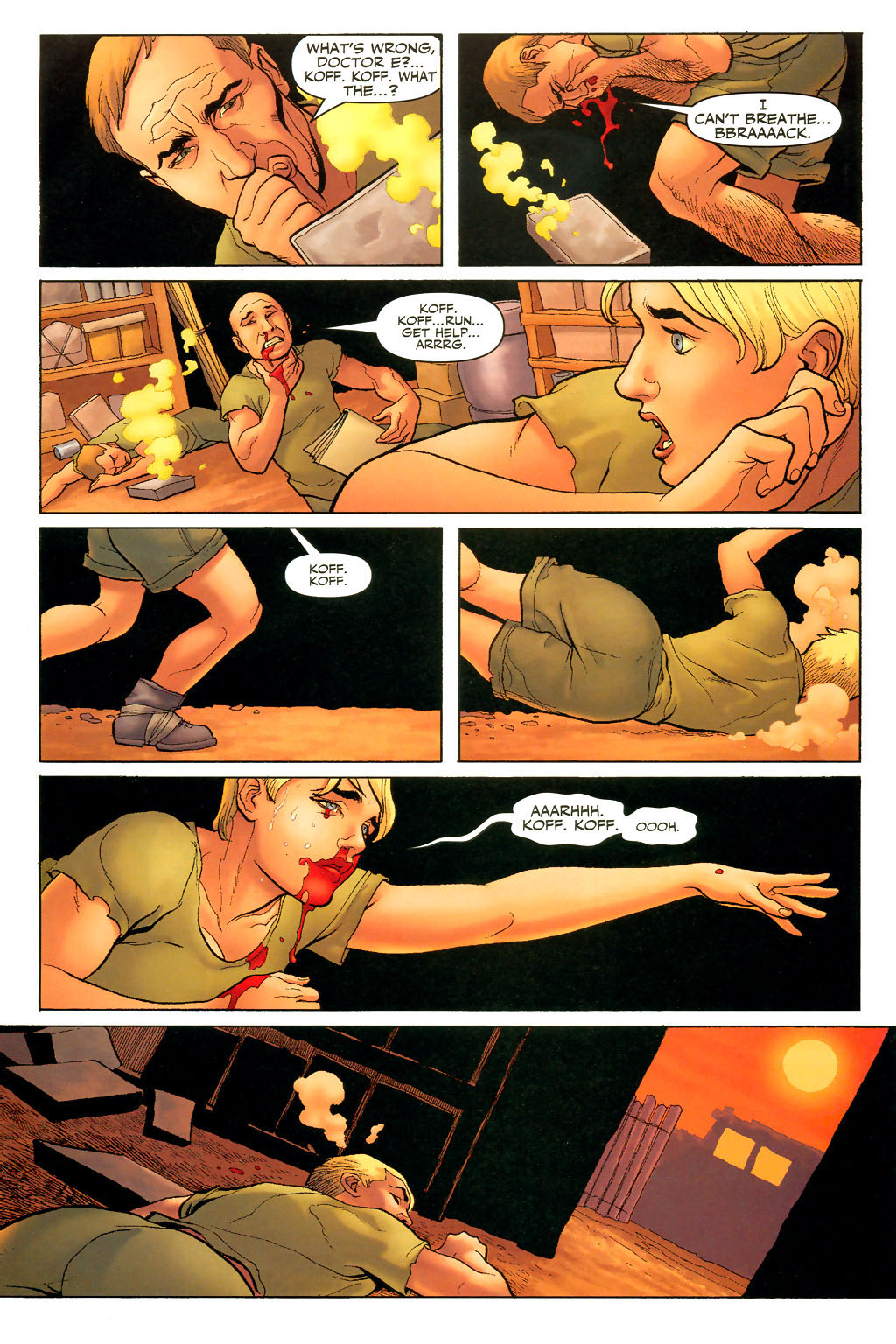 Read online Shanna, the She-Devil (2005) comic -  Issue #2 - 20
