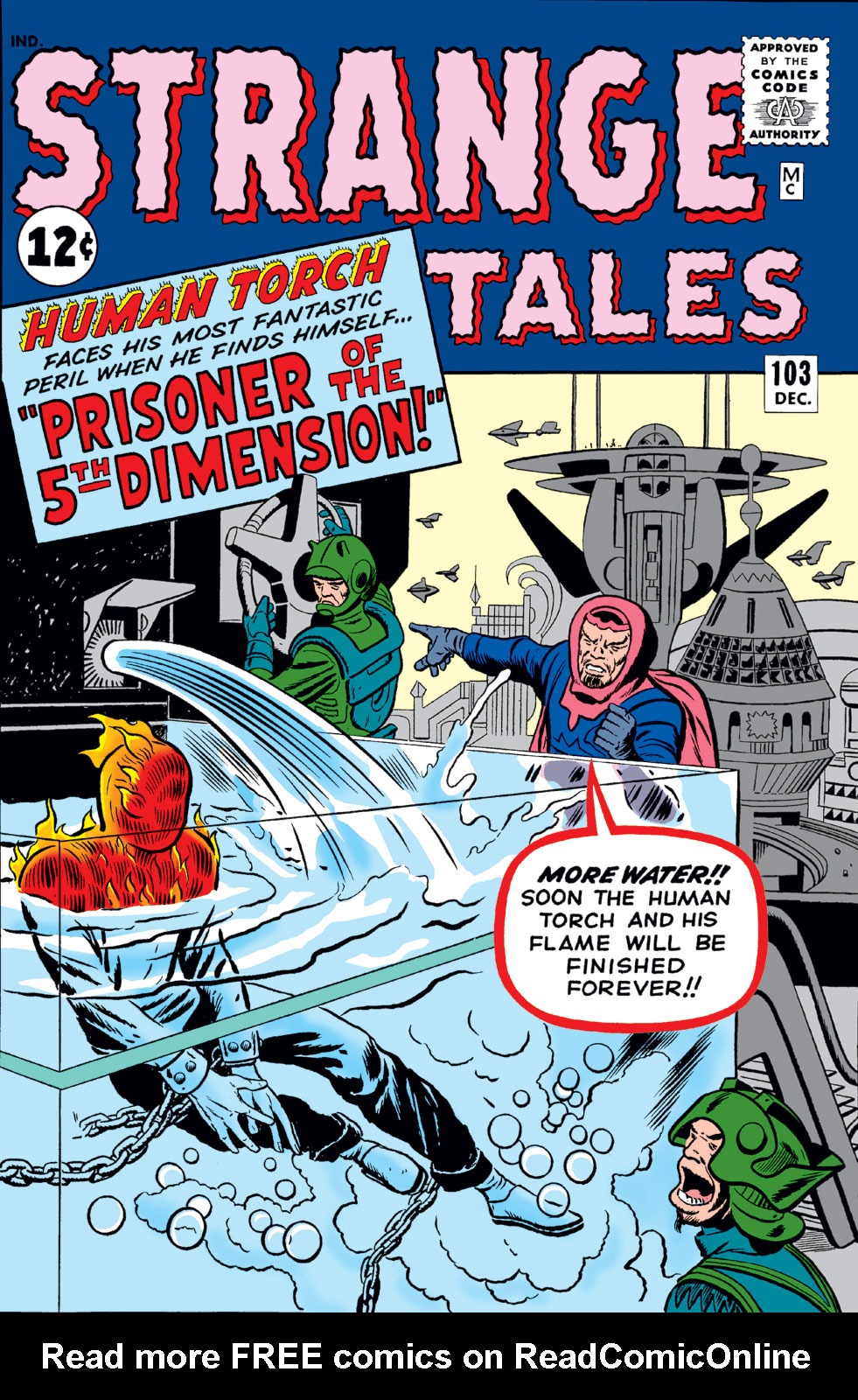 Strange Tales (1951) issue 103 - Page 1