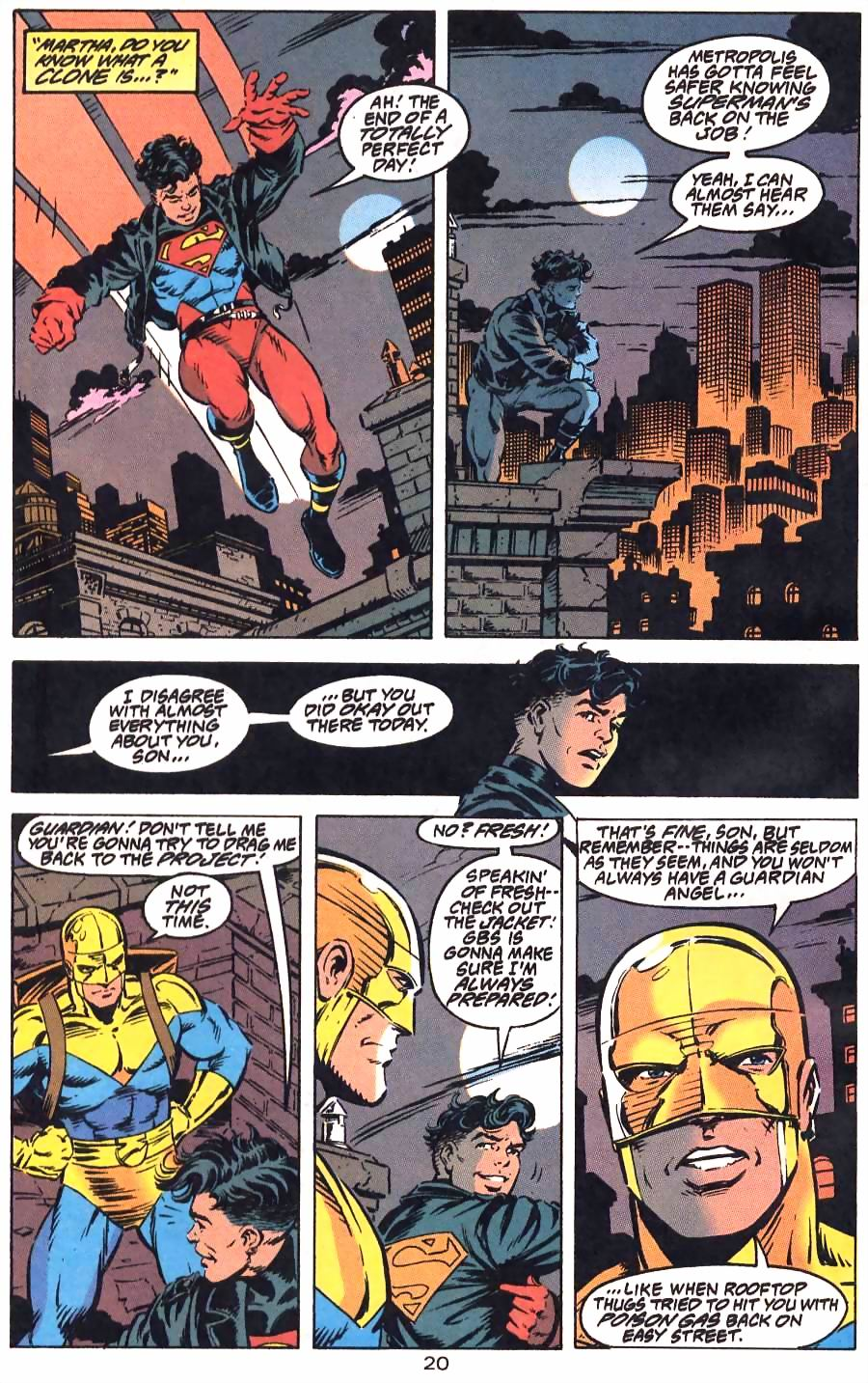 Read online Adventures of Superman (1987) comic -  Issue #501 - 24