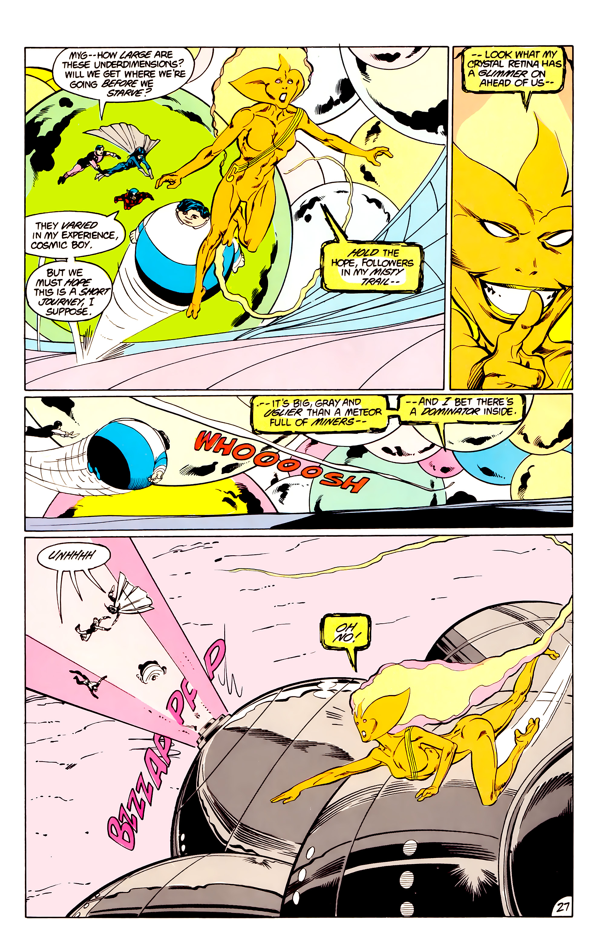 Legion of Super-Heroes (1984) _Annual_3 Page 27