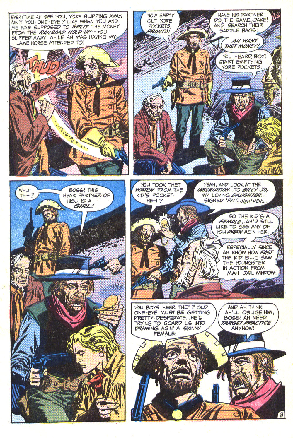 Read online All-Star Western (1970) comic -  Issue #8 - 11