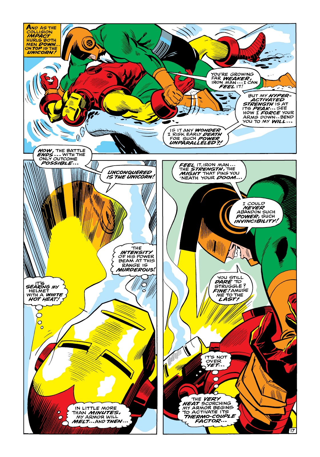 Read online Marvel Masterworks: The Invincible Iron Man comic -  Issue # TPB 5 (Part 1) - 66