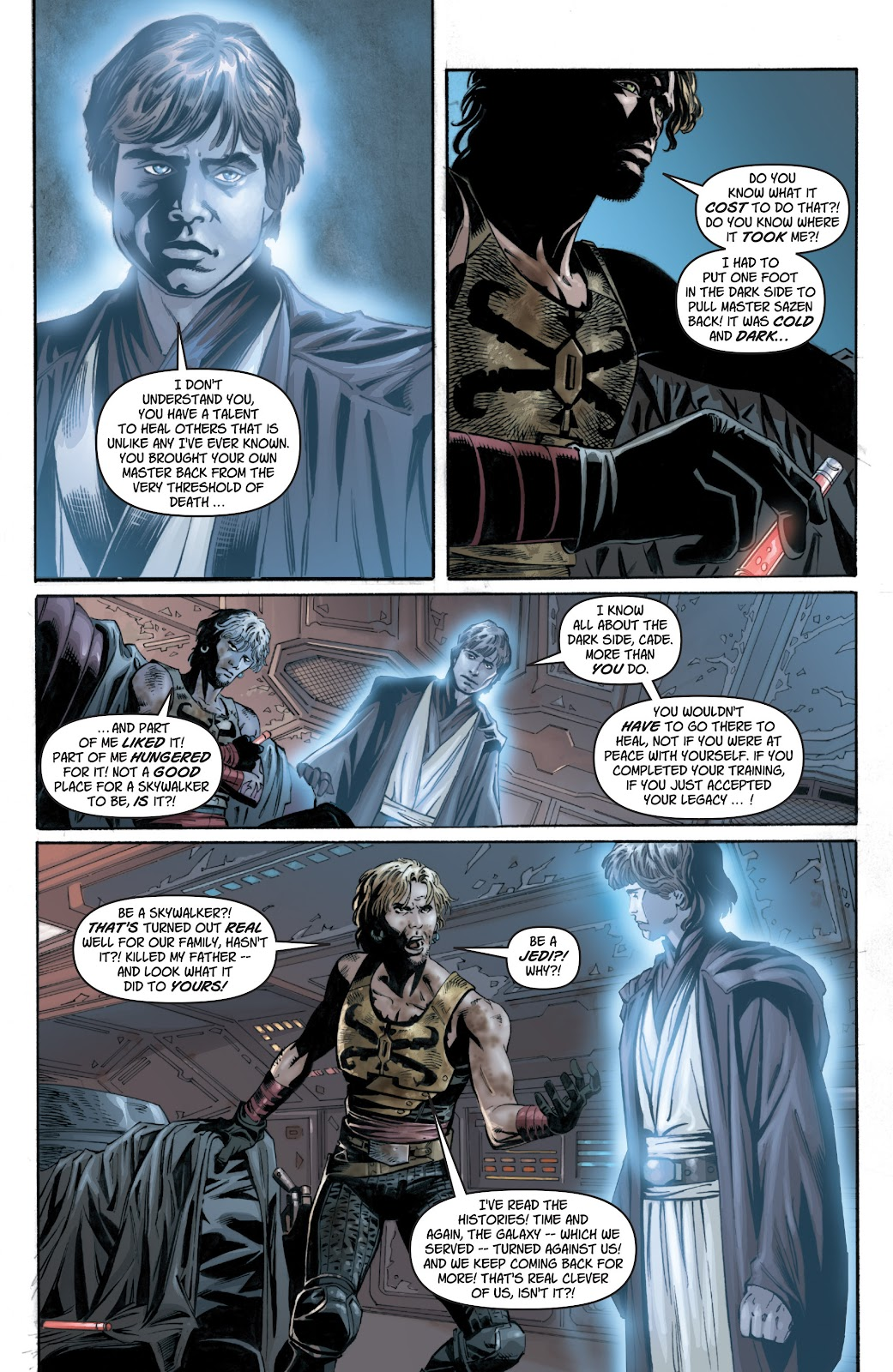 Read online Star Wars Legends: Legacy - Epic Collection comic -  Issue # TPB 1 (Part 1) - 68