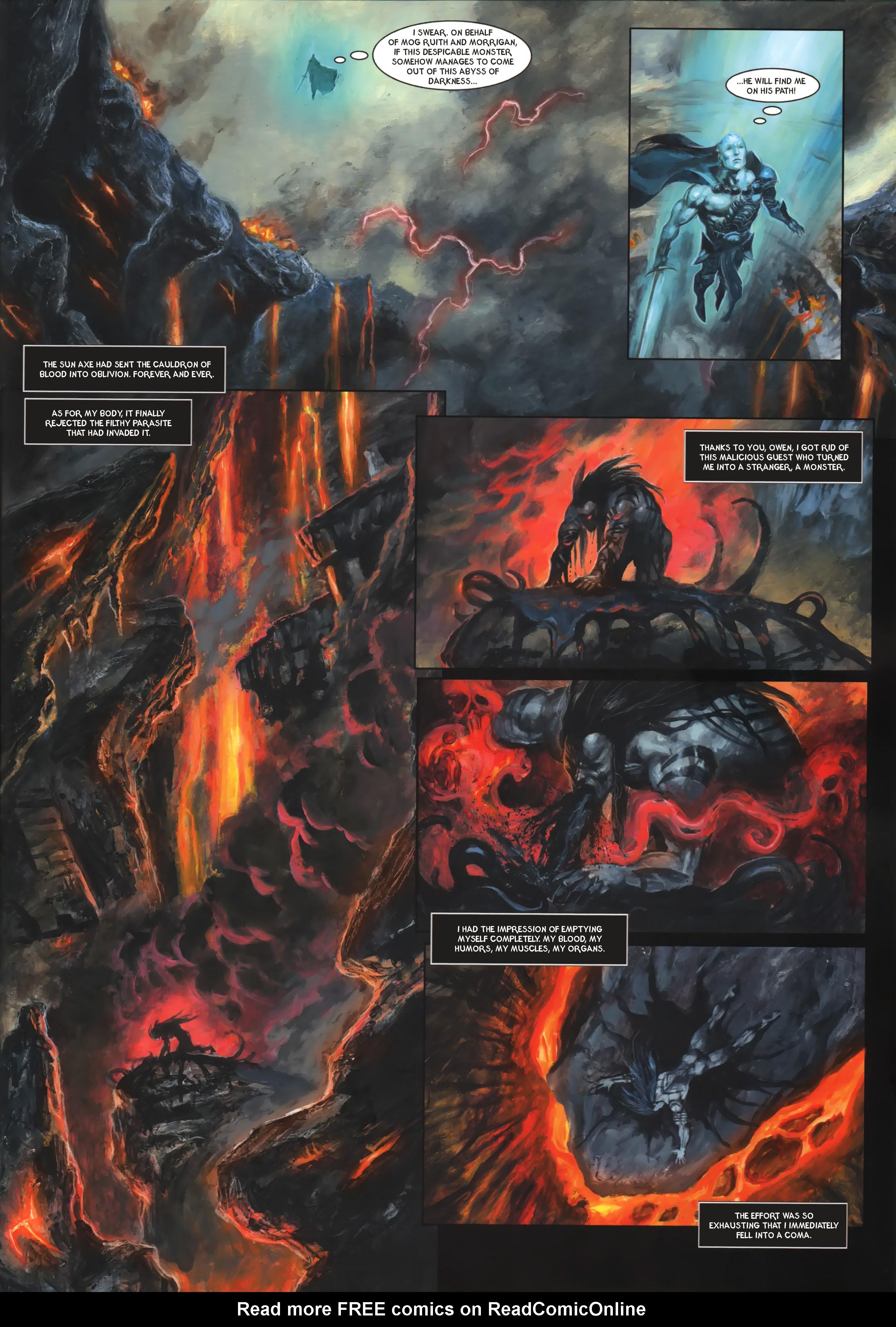 Read online Arawn comic -  Issue #6 - 24