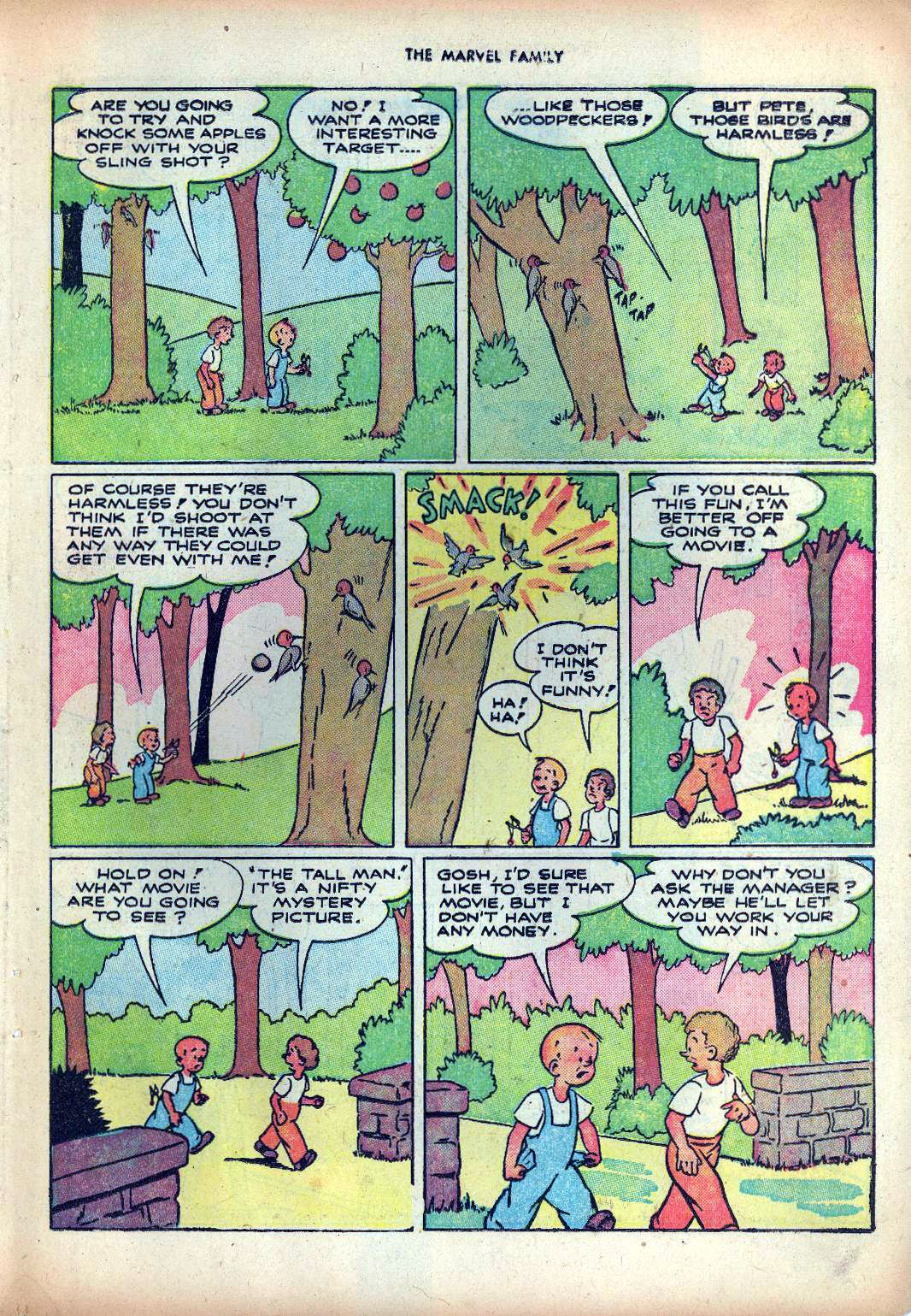 The Marvel Family issue 25 - Page 35