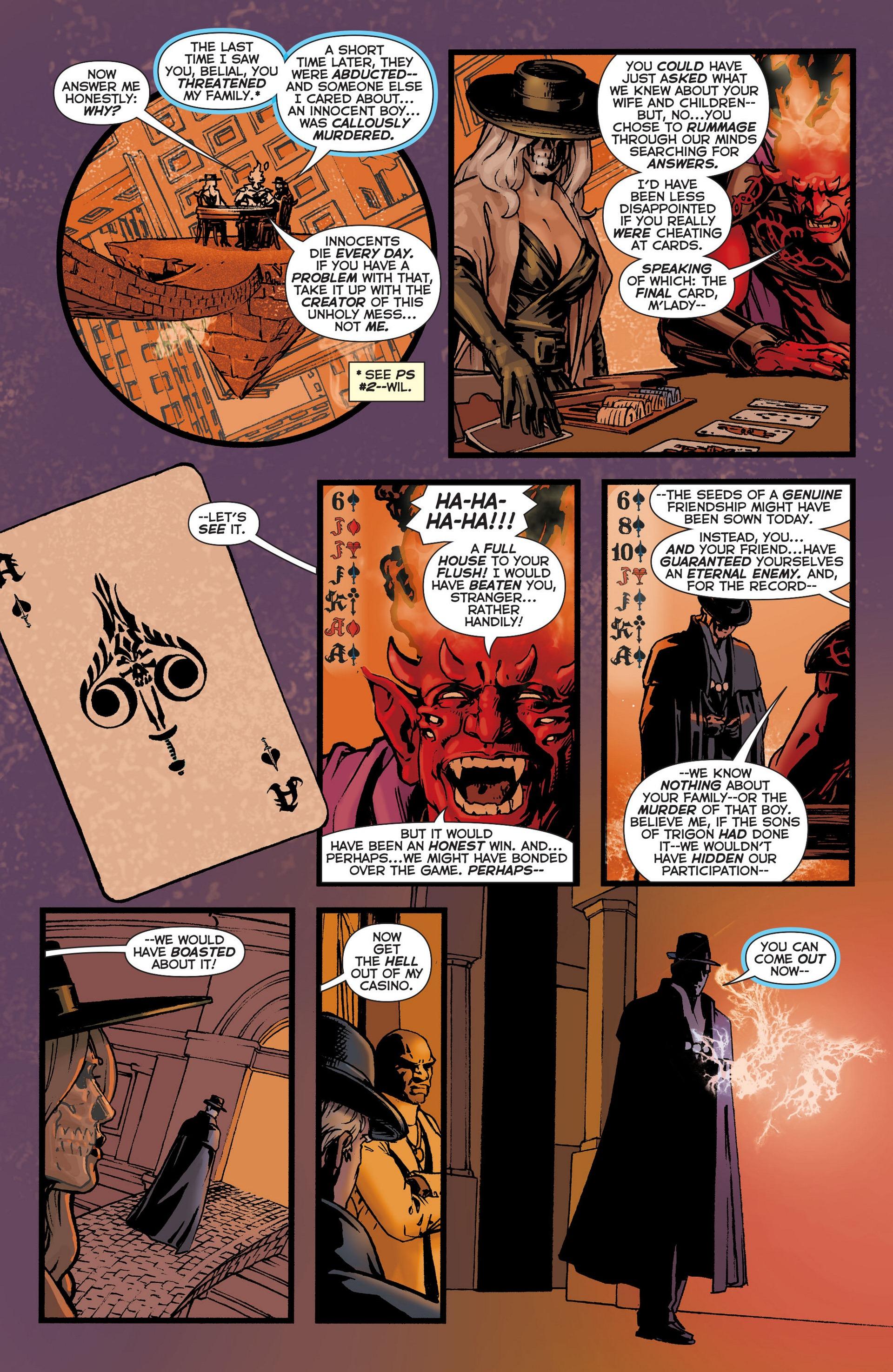 Read online Trinity of Sin: The Phantom Stranger comic -  Issue #6 - 17