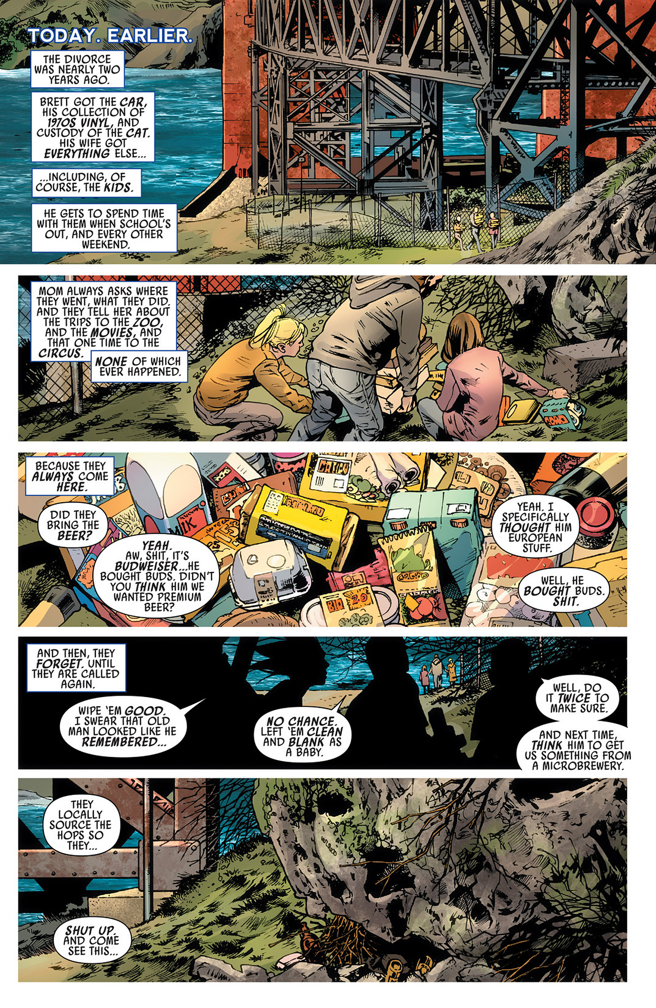 Read online America's Got Powers comic -  Issue #3 - 12