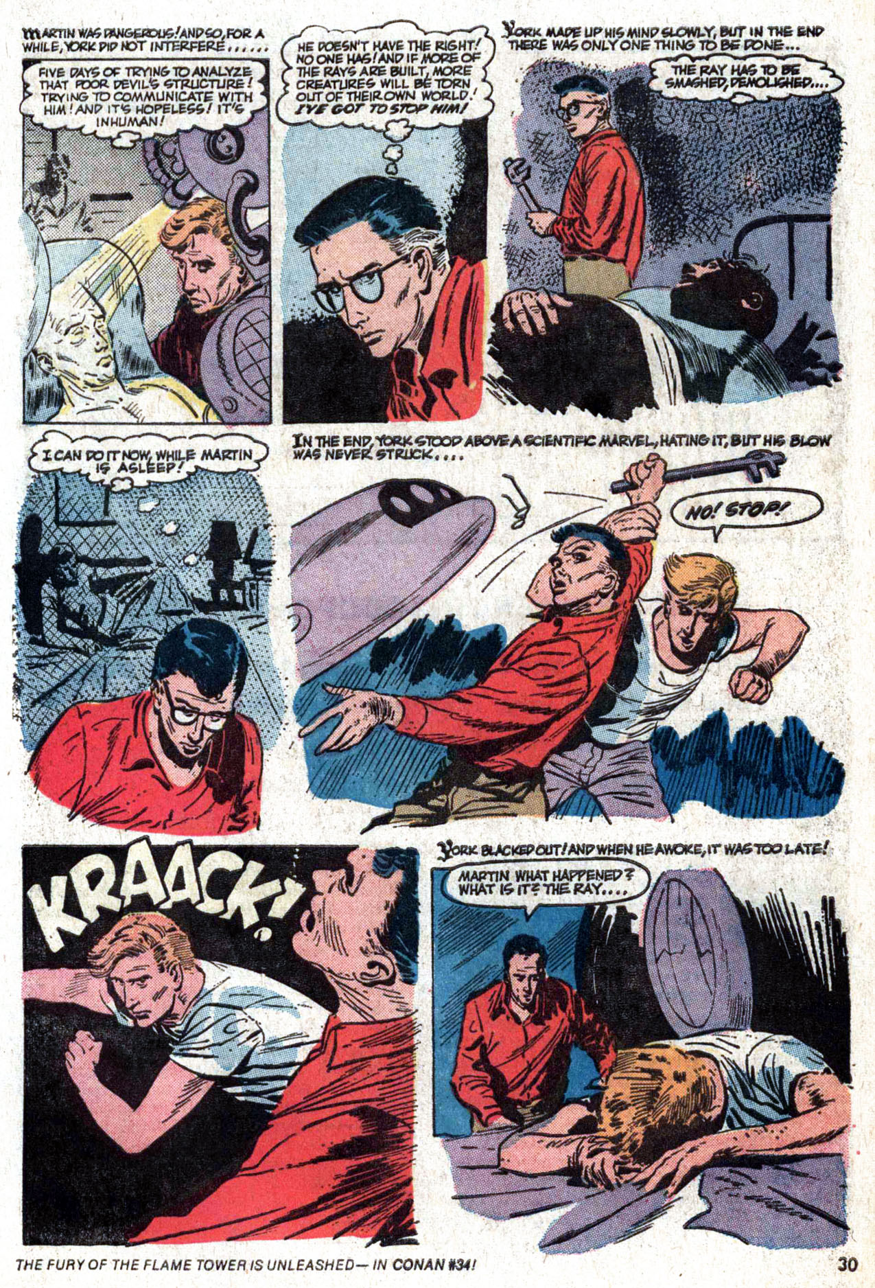 Read online Amazing Adventures (1970) comic -  Issue #22 - 30