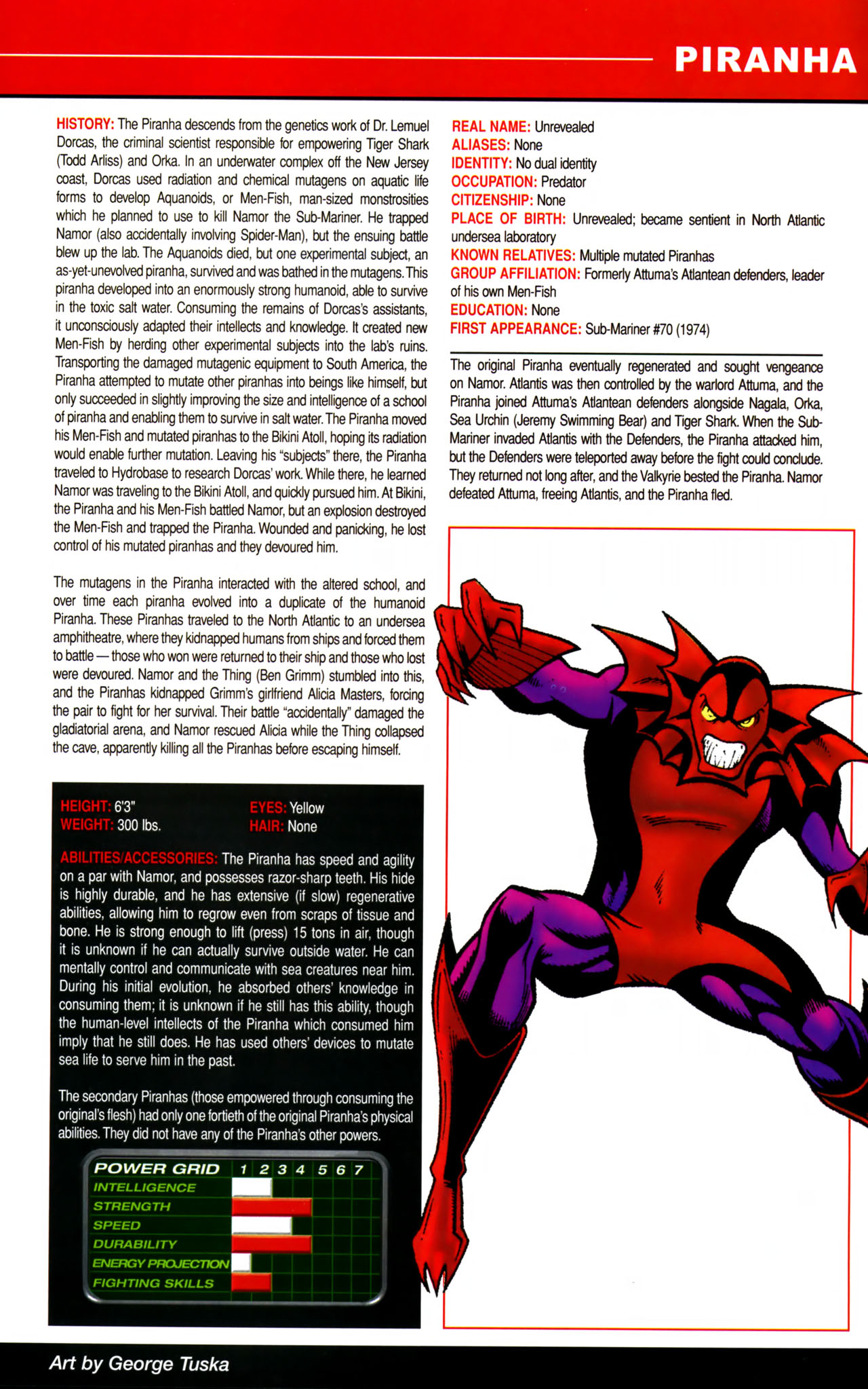 Read online All-New Official Handbook of the Marvel Universe A to Z comic -  Issue #8 - 45