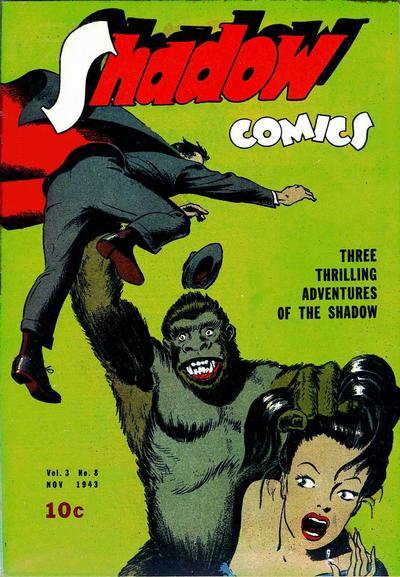 Shadow Comics 32 Page 1