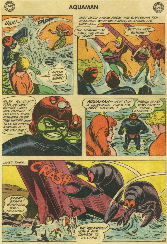 Read online Aquaman (1962) comic -  Issue #16 - 21
