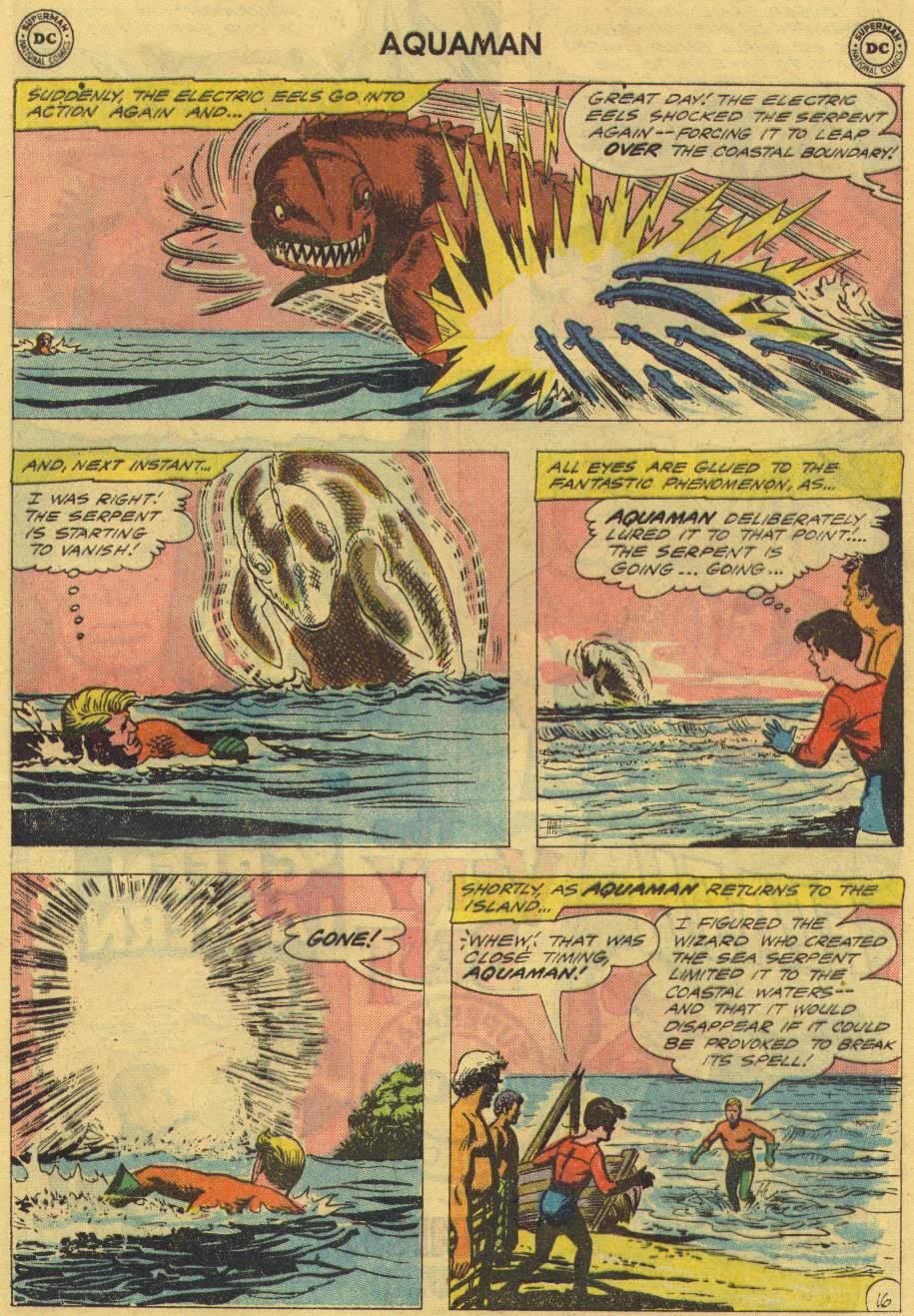 Read online Aquaman (1962) comic -  Issue #2 - 21