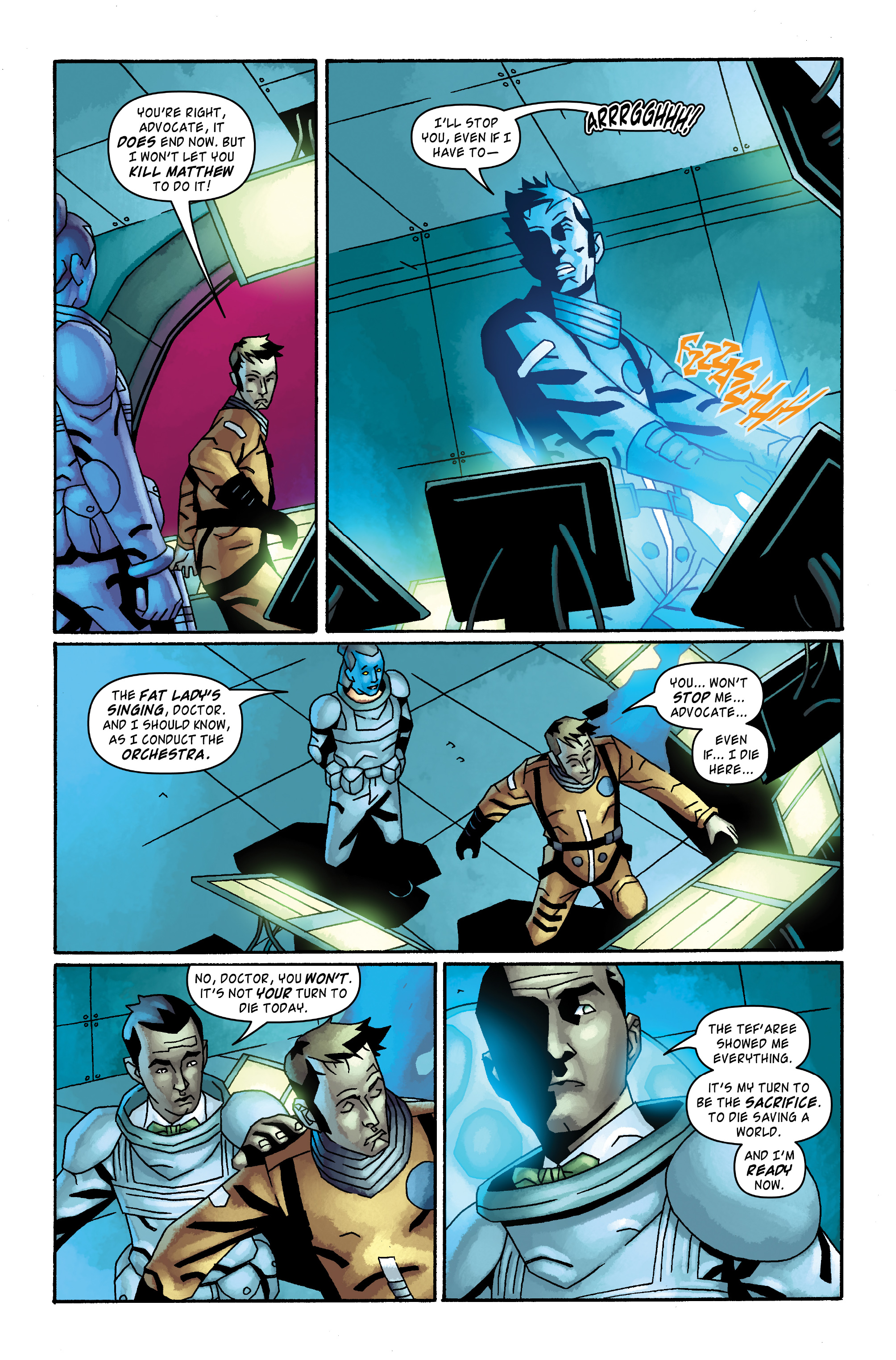 Read online Doctor Who: The Tenth Doctor Archives comic -  Issue #34 - 5