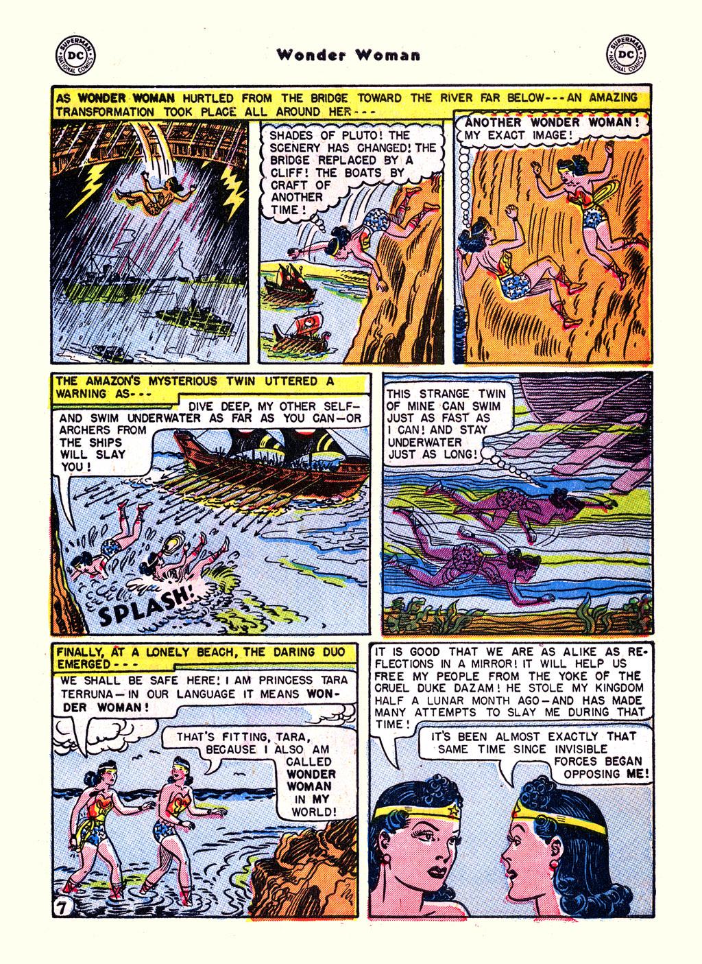 Read online Wonder Woman (1942) comic -  Issue #59 - 9