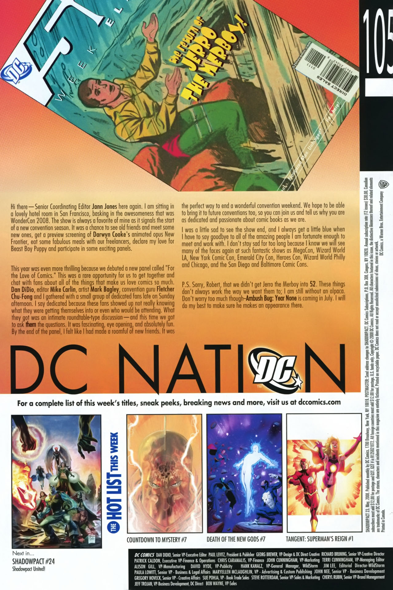 Read online Shadowpact comic -  Issue #23 - 24
