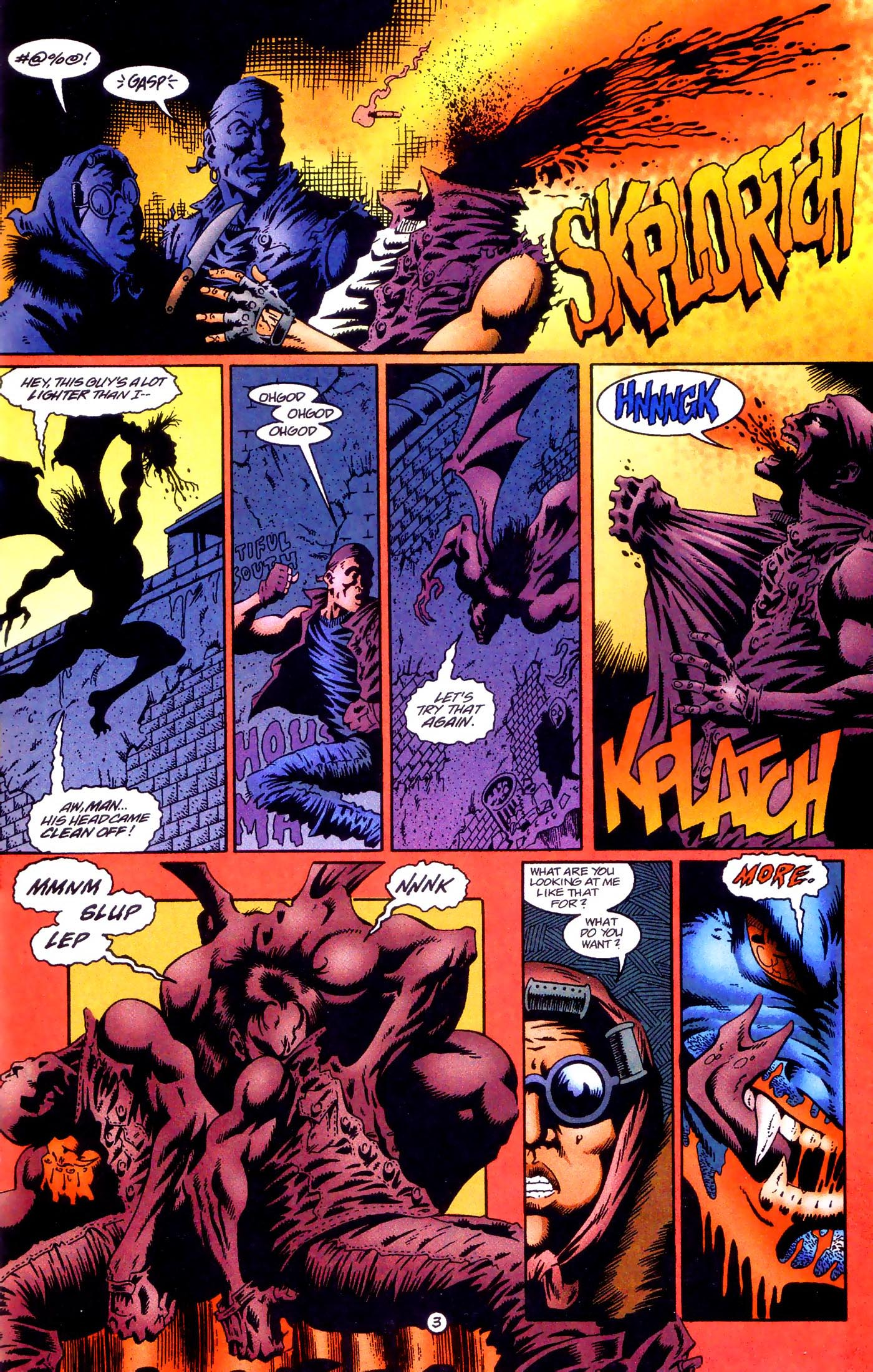 Read online Rune (1995) comic -  Issue #1 - 4