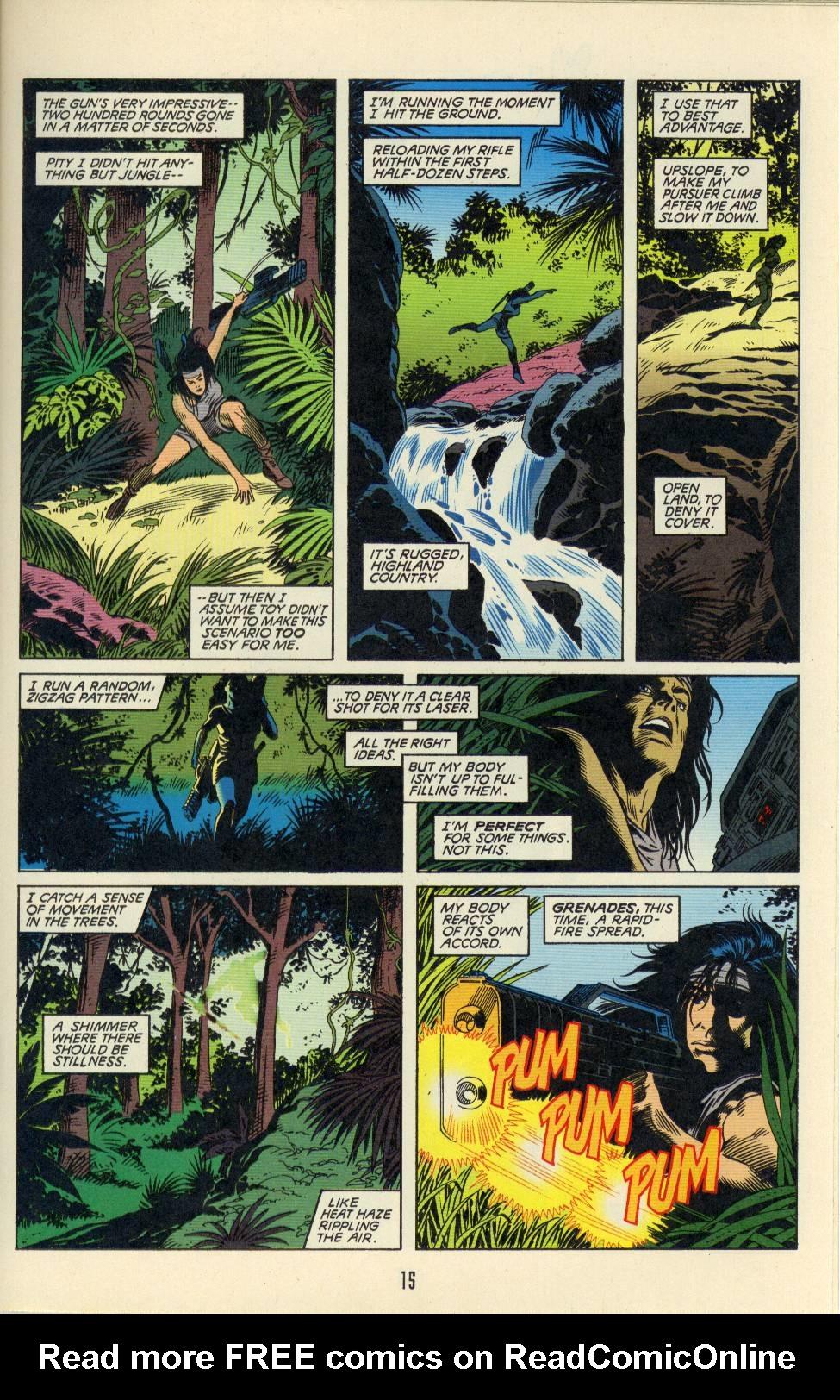 Read online Aliens/Predator: The Deadliest of the Species comic -  Issue #2 - 16