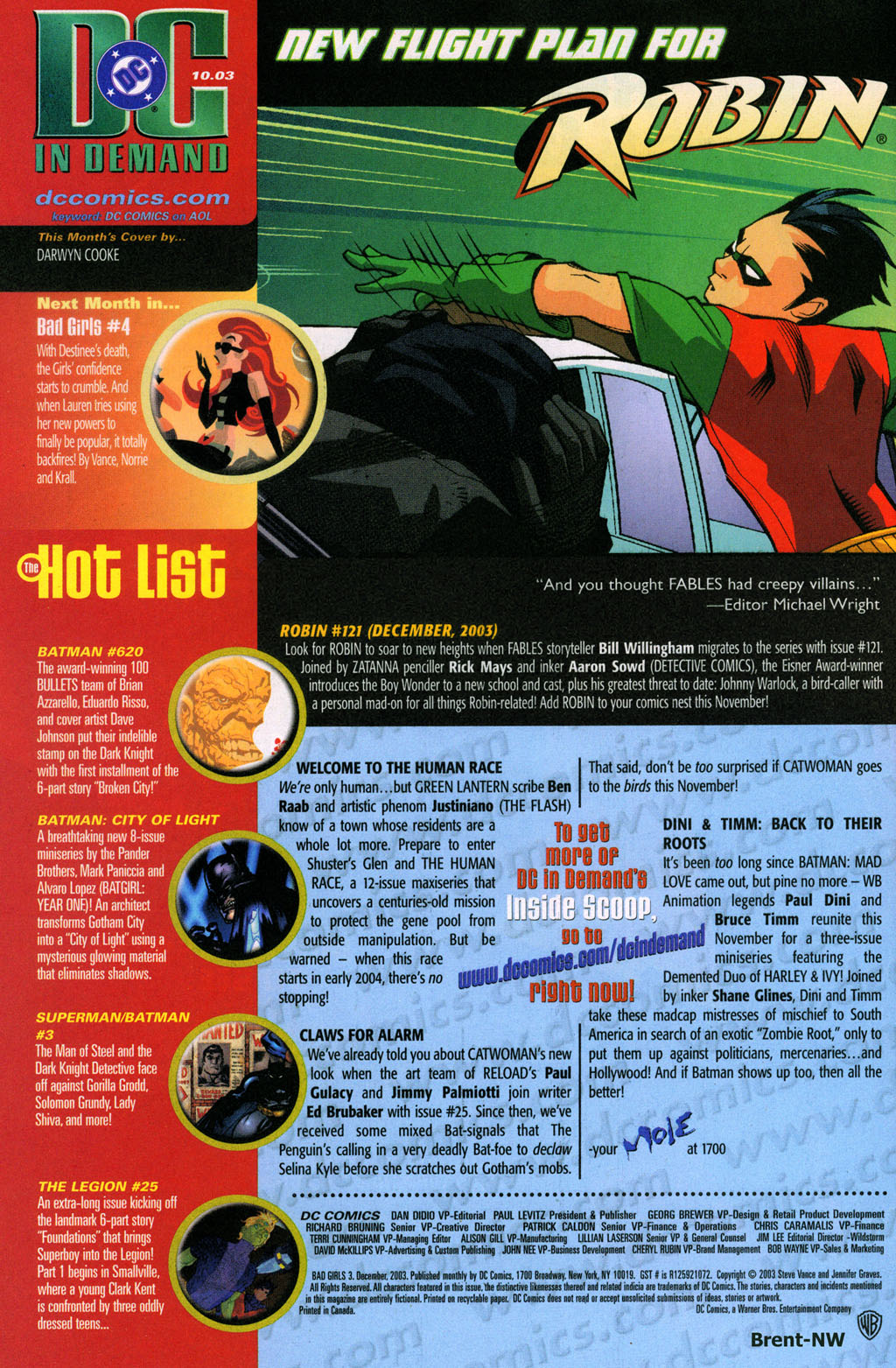 Read online Bad Girls comic -  Issue #3 - 24