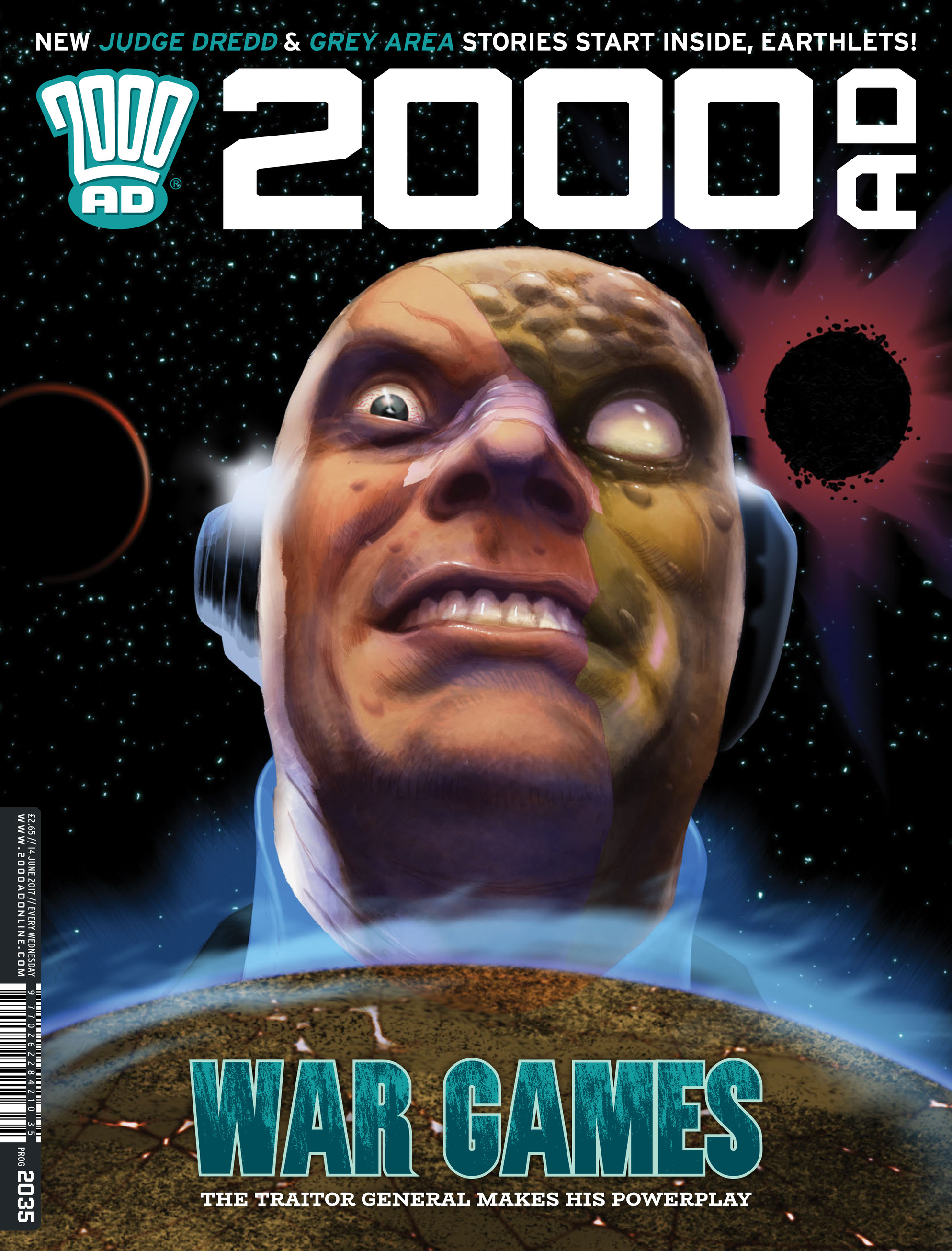 Read online 2000 AD comic -  Issue #2035 - 1