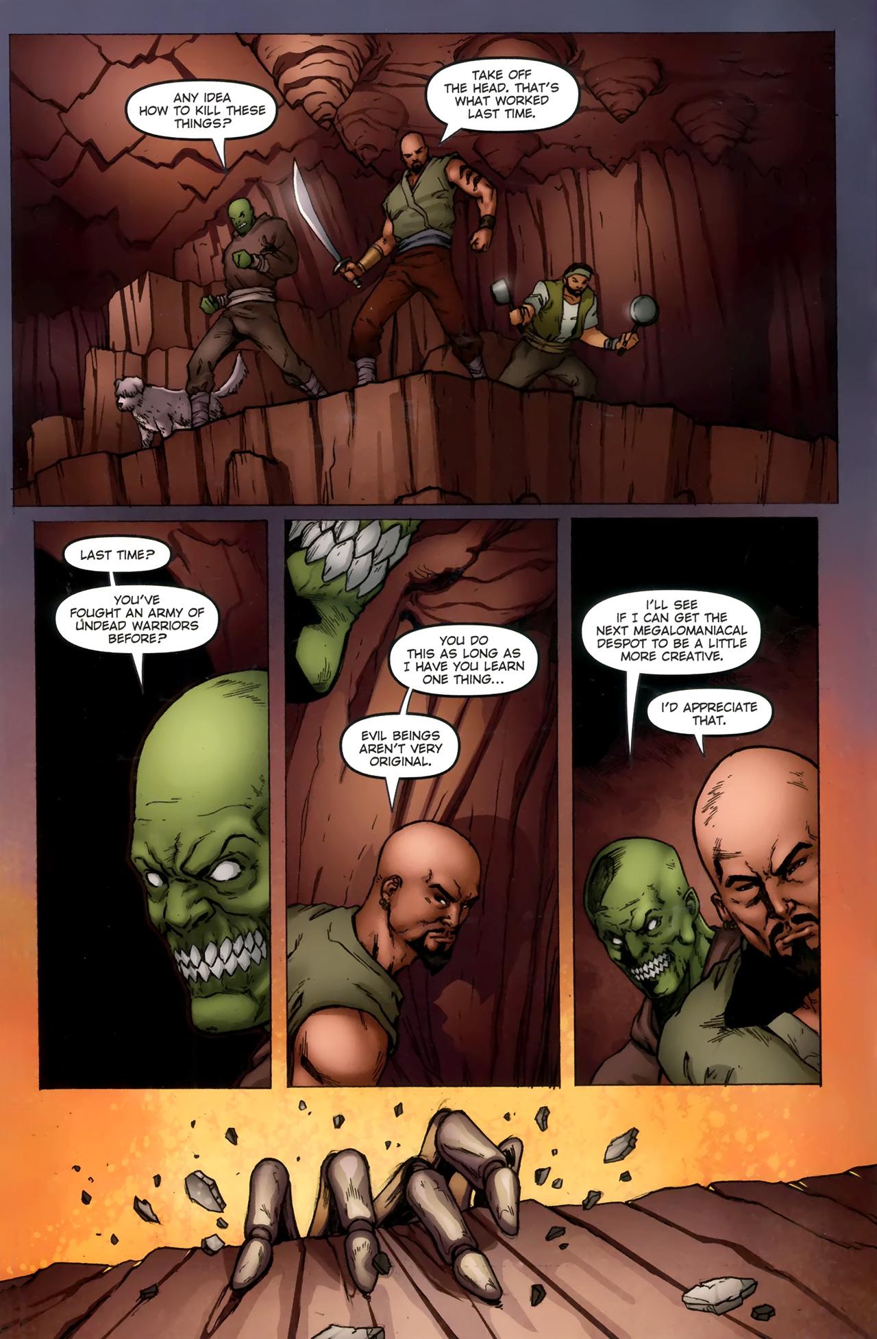 Read online 1001 Arabian Nights: The Adventures of Sinbad comic -  Issue #11 - 8