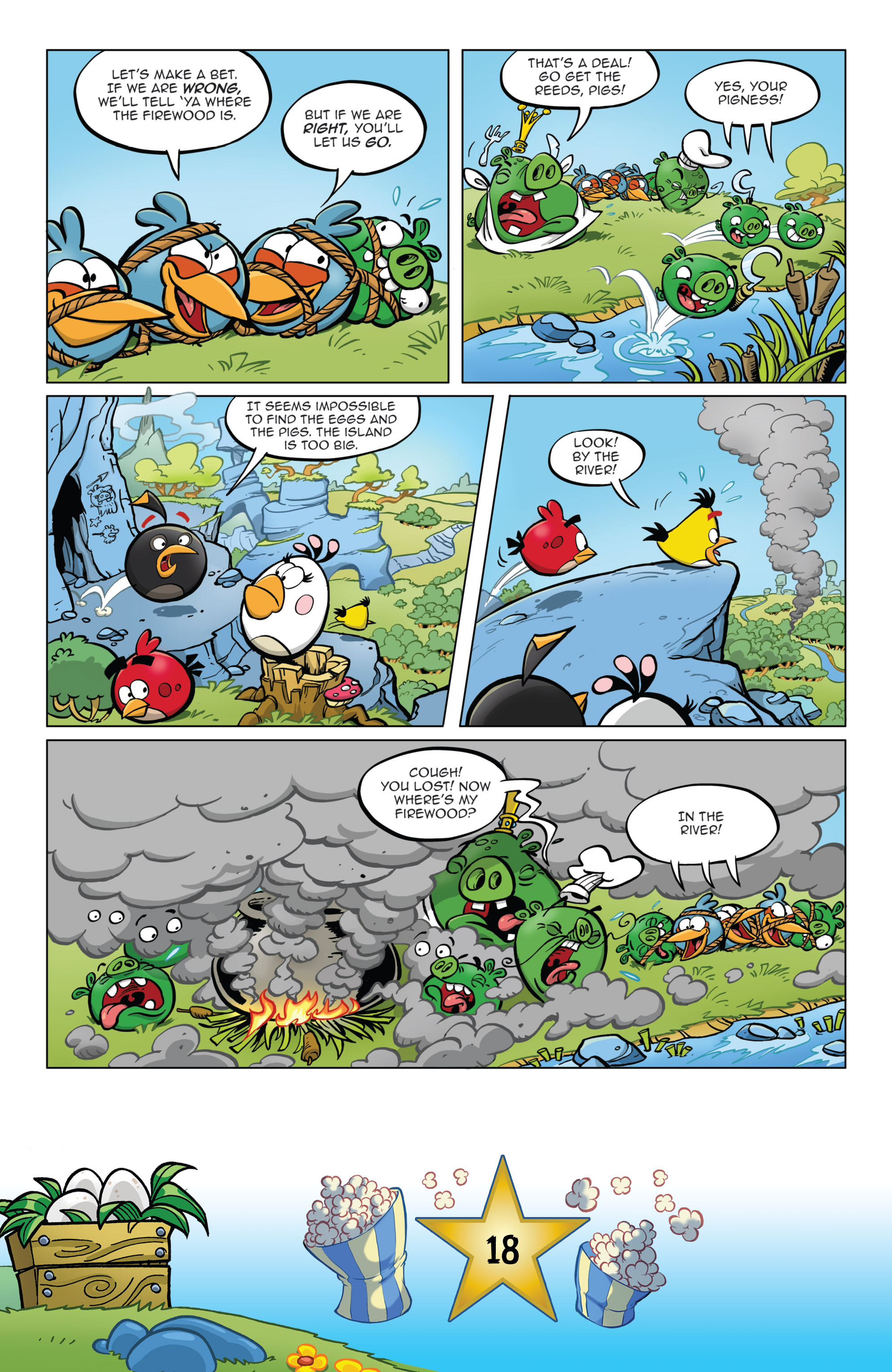 Read online Angry Birds Comics (2016) comic -  Issue #5 - 20