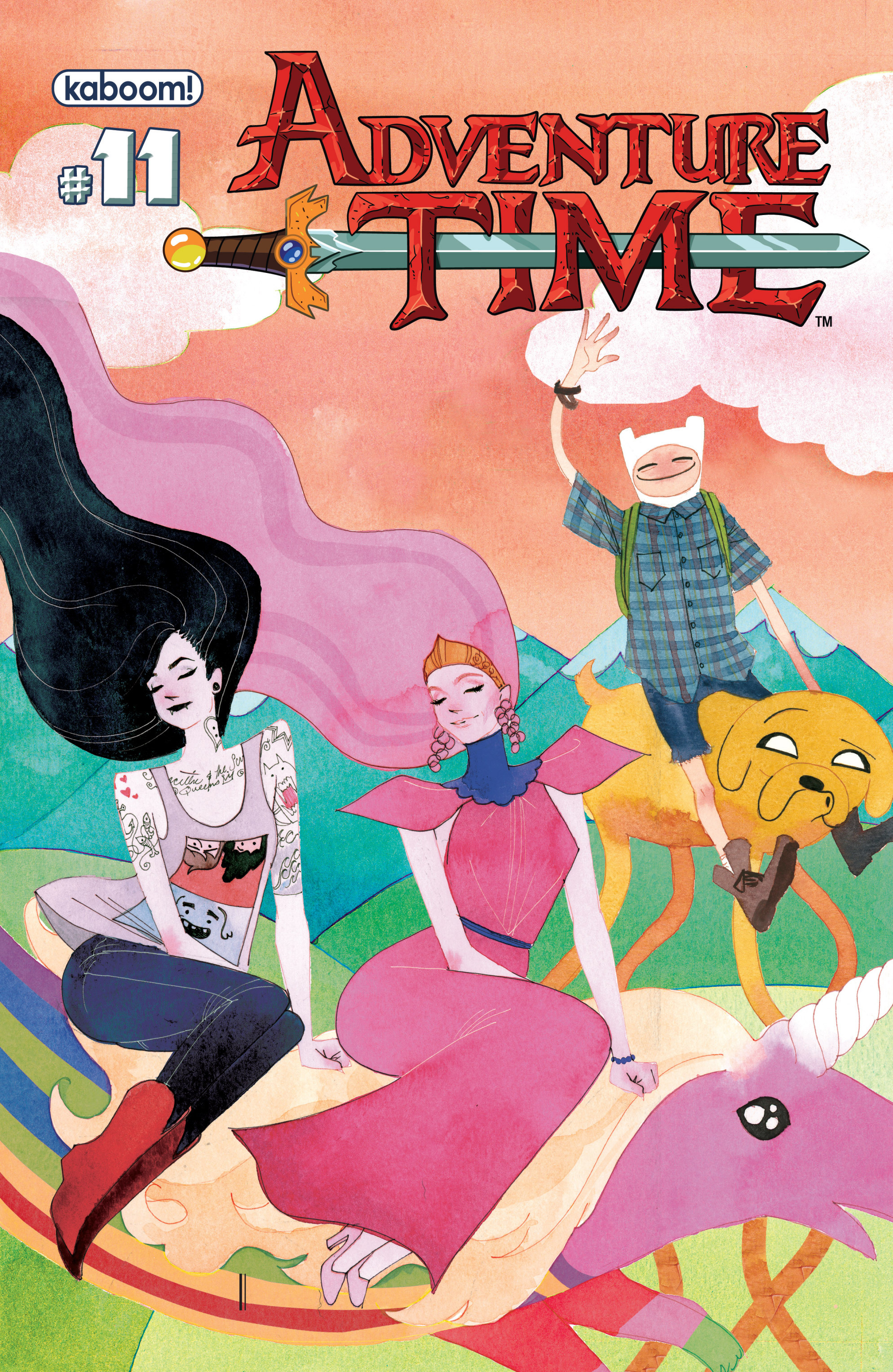 Read online Adventure Time comic -  Issue #11 - 2