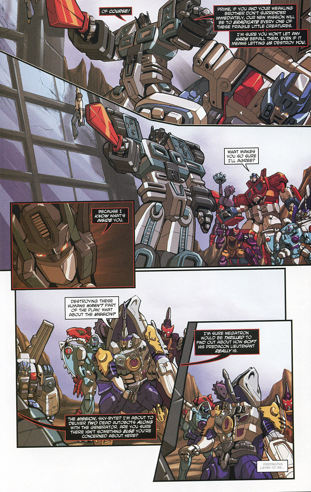 Read online Transformers 20th Anniversary Summer Special comic -  Issue # Full - 28