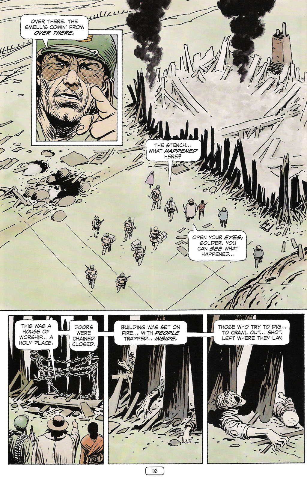 Read online Sgt. Rock: The Prophecy comic -  Issue #2 - 17