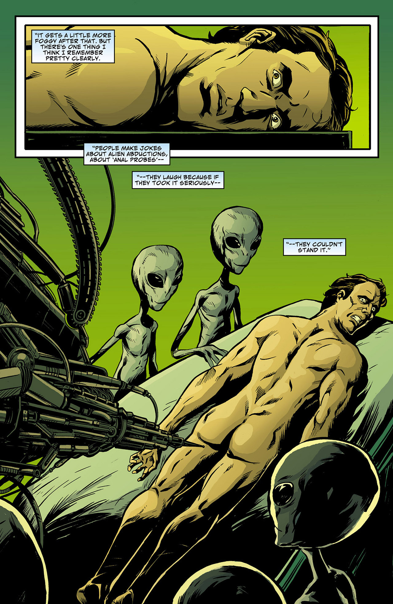 Read online Saucer Country comic -  Issue #4 - 14