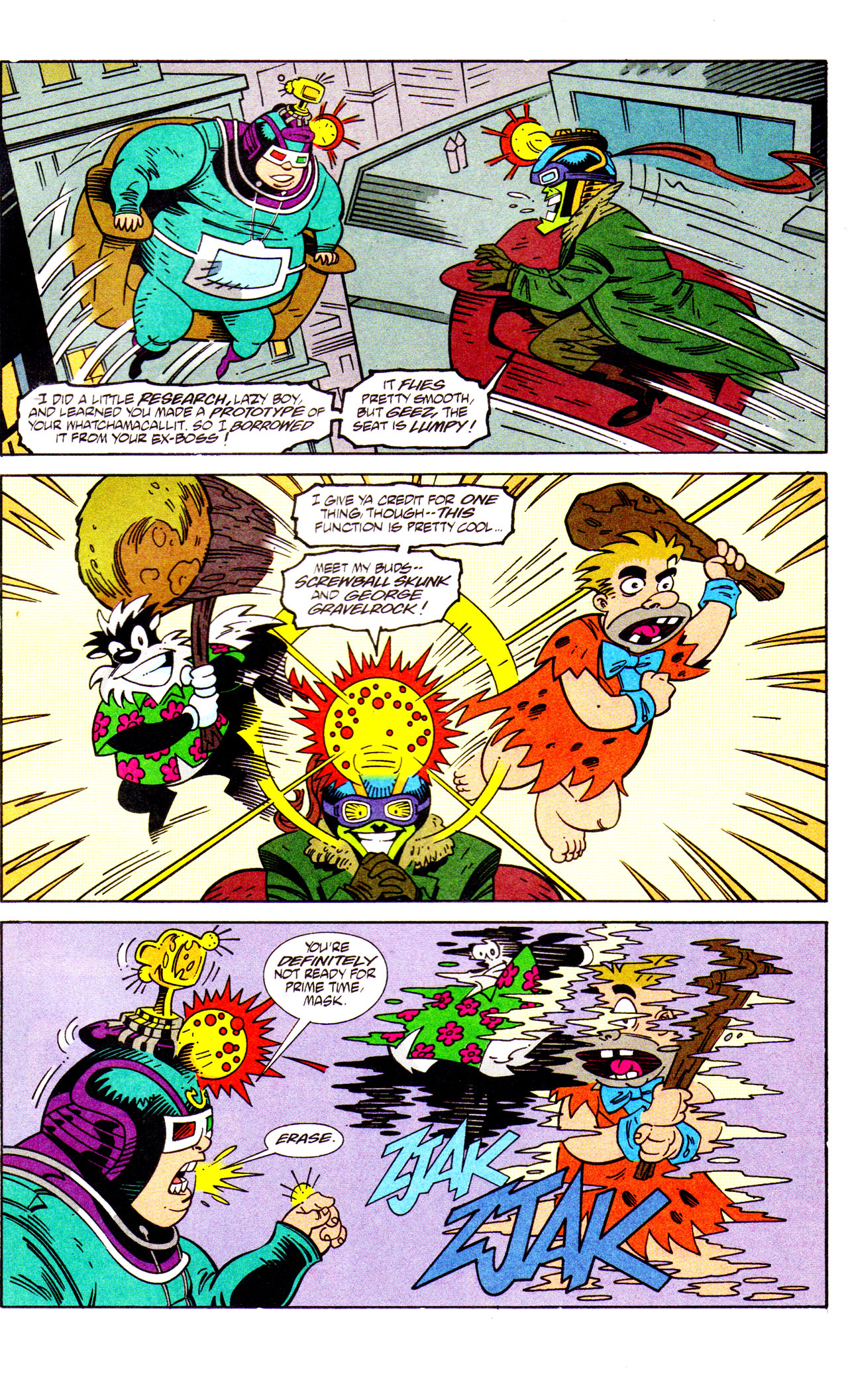 Read online Adventures Of The Mask comic -  Issue #7 - 21