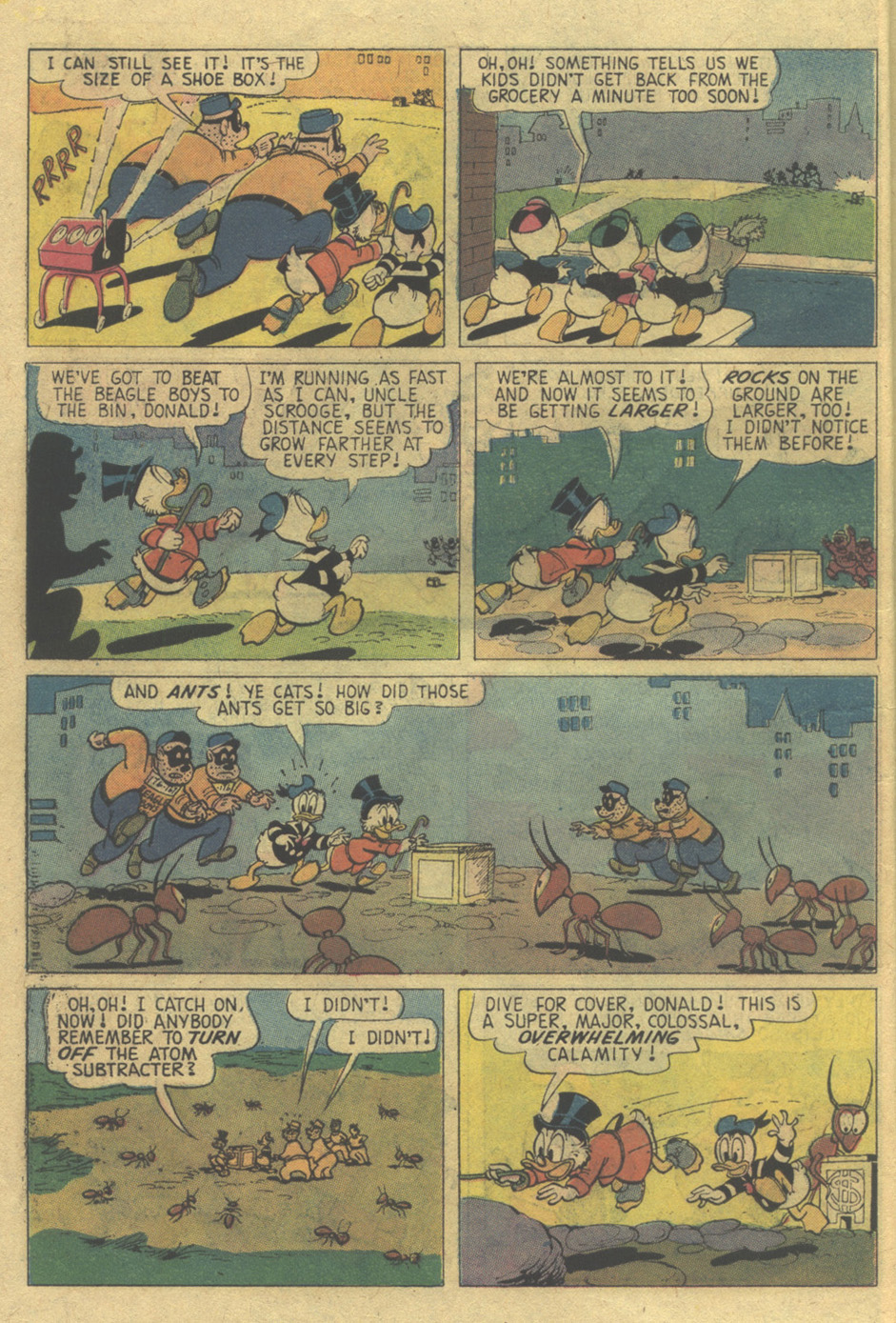 Read online Uncle Scrooge (1953) comic -  Issue #120 - 8