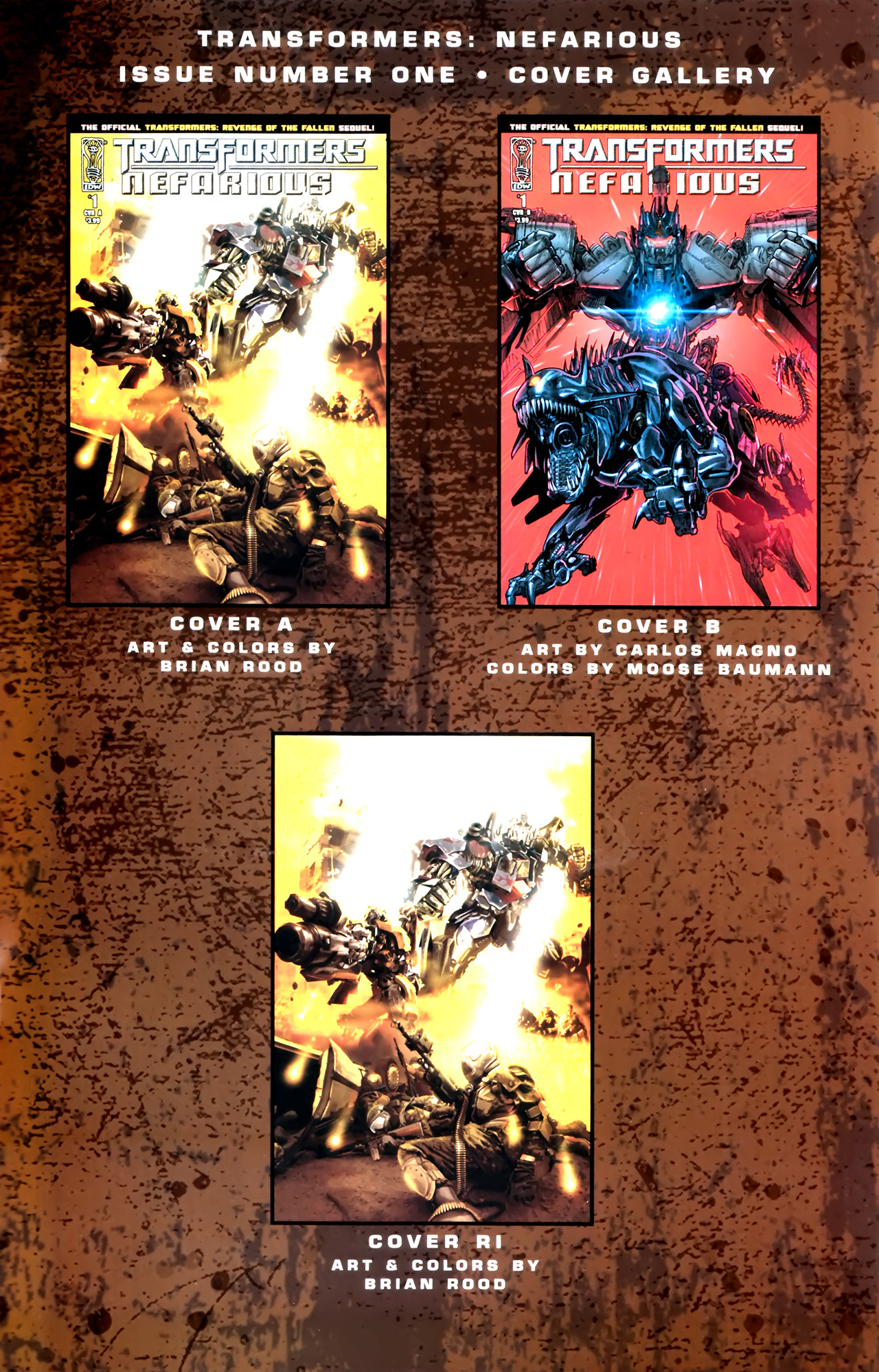 Read online Transformers: Nefarious comic -  Issue #1 - 28