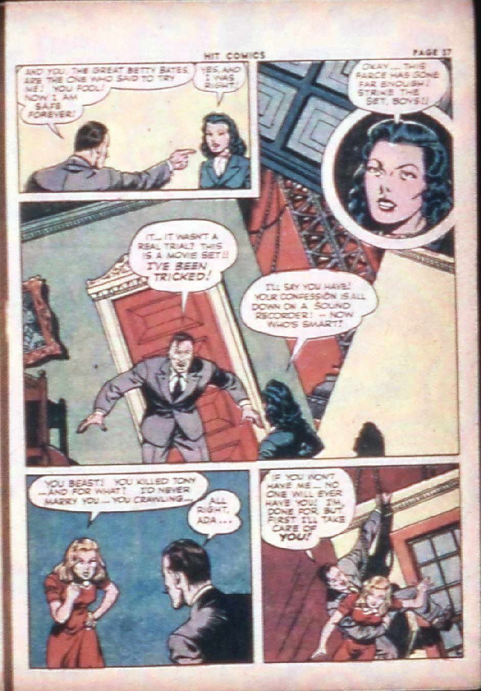 Read online Hit Comics comic -  Issue #29 - 39