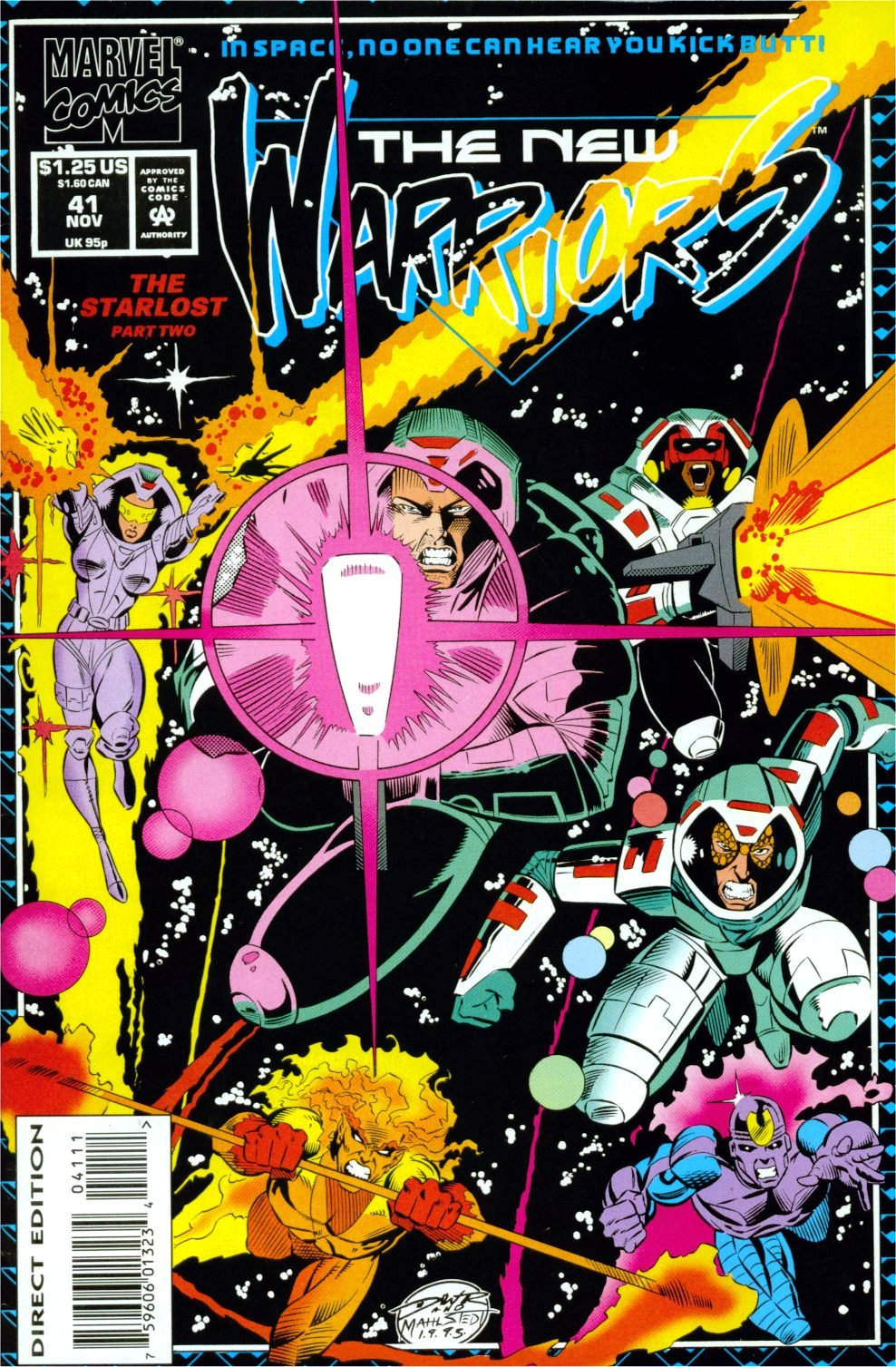The New Warriors Issue #41 #45 - English 1