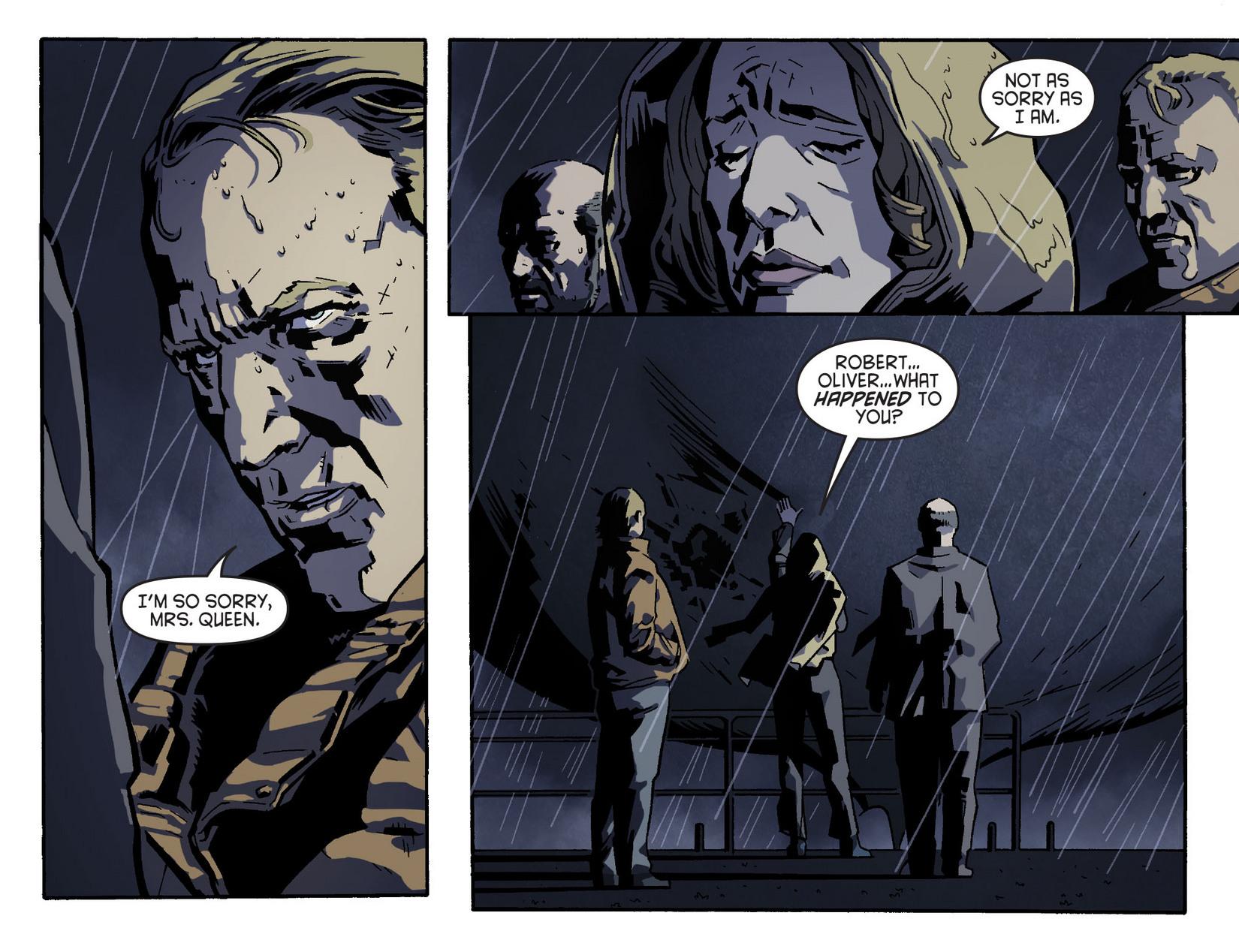 Read online Arrow [II] comic -  Issue #5 - 6