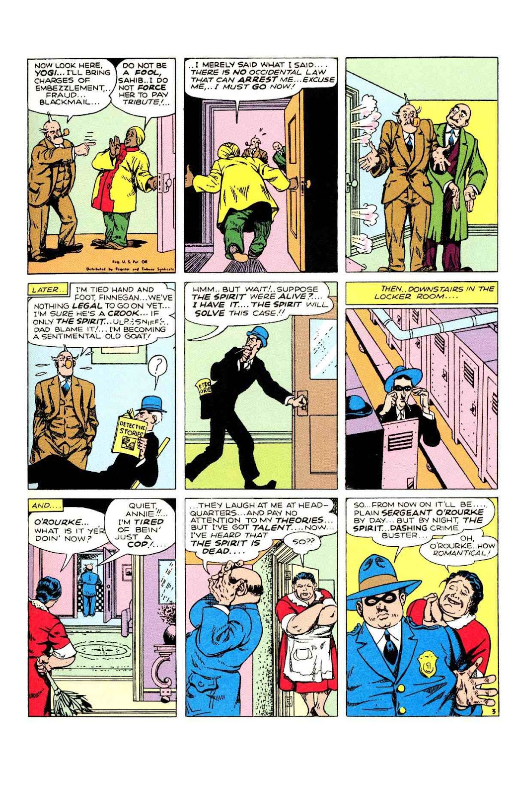 Read online Will Eisner's The Spirit Archives comic -  Issue # TPB 2 (Part 1) - 43