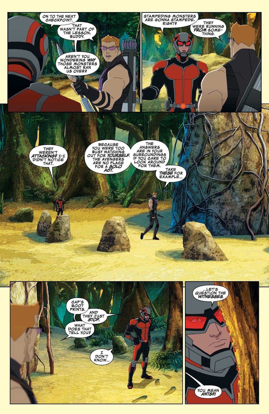 Read online Marvel Universe Avengers Assemble Season 2 comic -  Issue #9 - 13